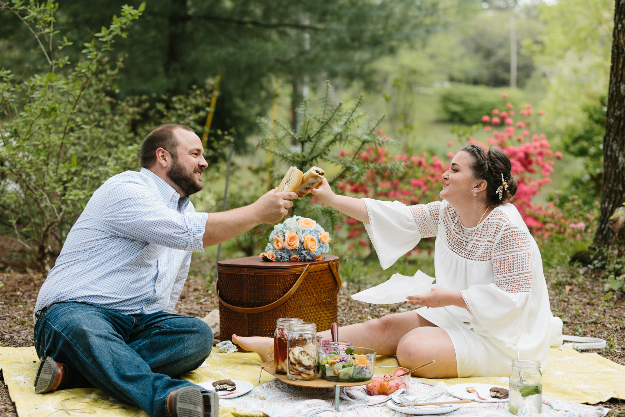 Photography from Natalie and Kyle's elopement wedding in Bloomington, Indiana.