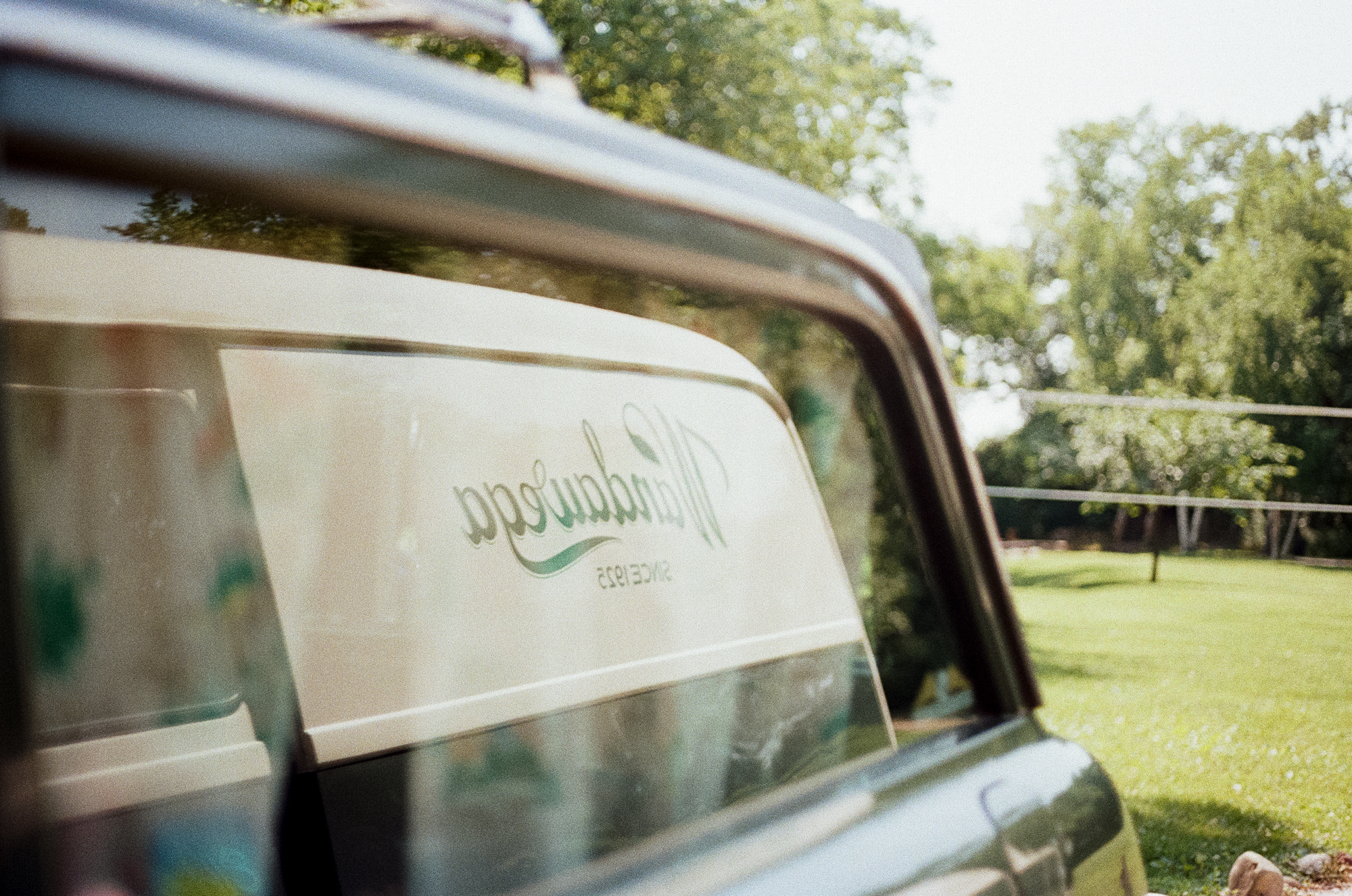 The  Camp Wandawega  cars in Elkhorn, Wisconsin during Let's Camp 2018 photographed for  Driftless magazine  and hosted by  The Glossary  and  Feminest .