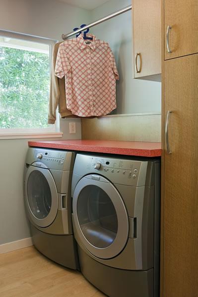 An efficient laundry.
