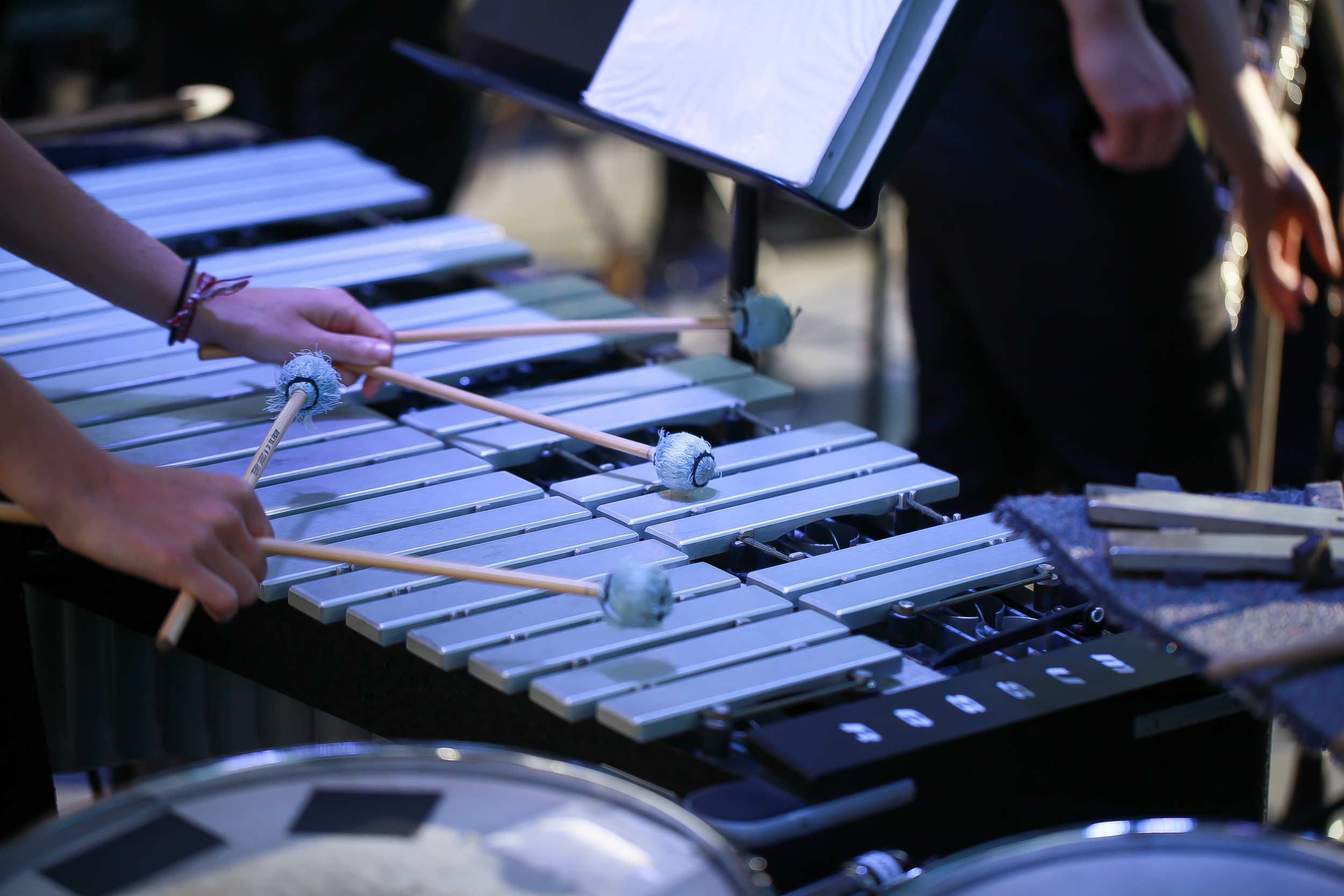 Percussionist  Christina Manceor  joins Symphony Number One as guest artist.