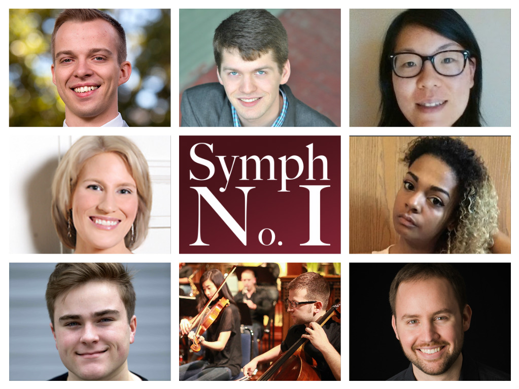 Winners of Symphony Number One's third Call for Scores