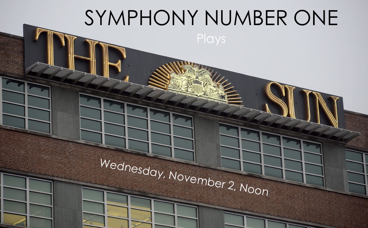 symphony number one plays the baltimore sun
