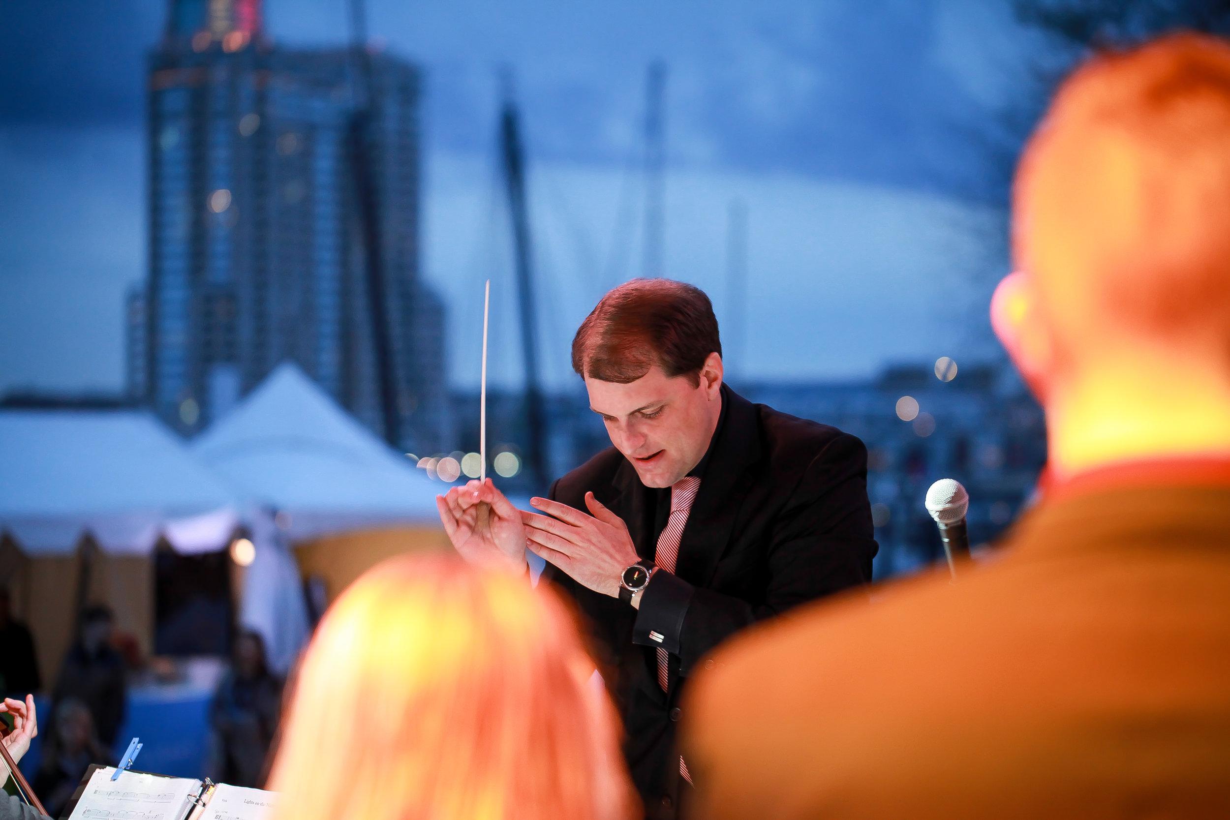 Jordan Randall Smith, conductor