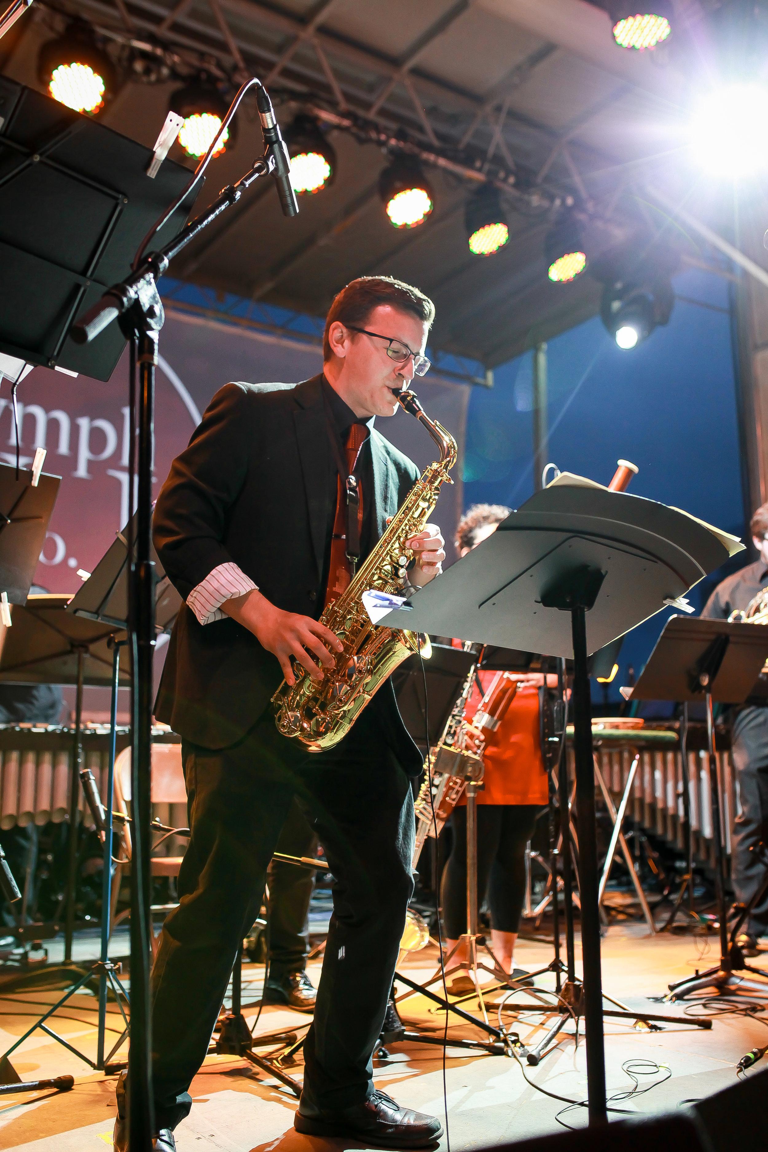 Sean Meyers, saxophone