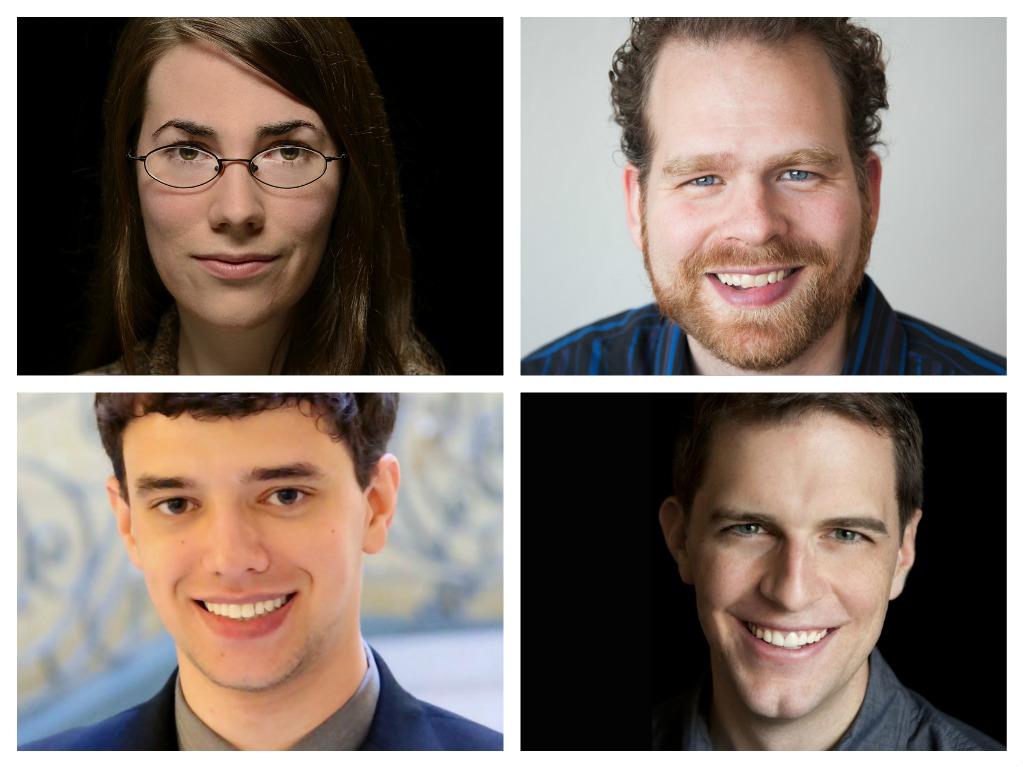 Natalie Draper, Jonathan Russell, Andrew Posner, and Jordan Randall Smith
