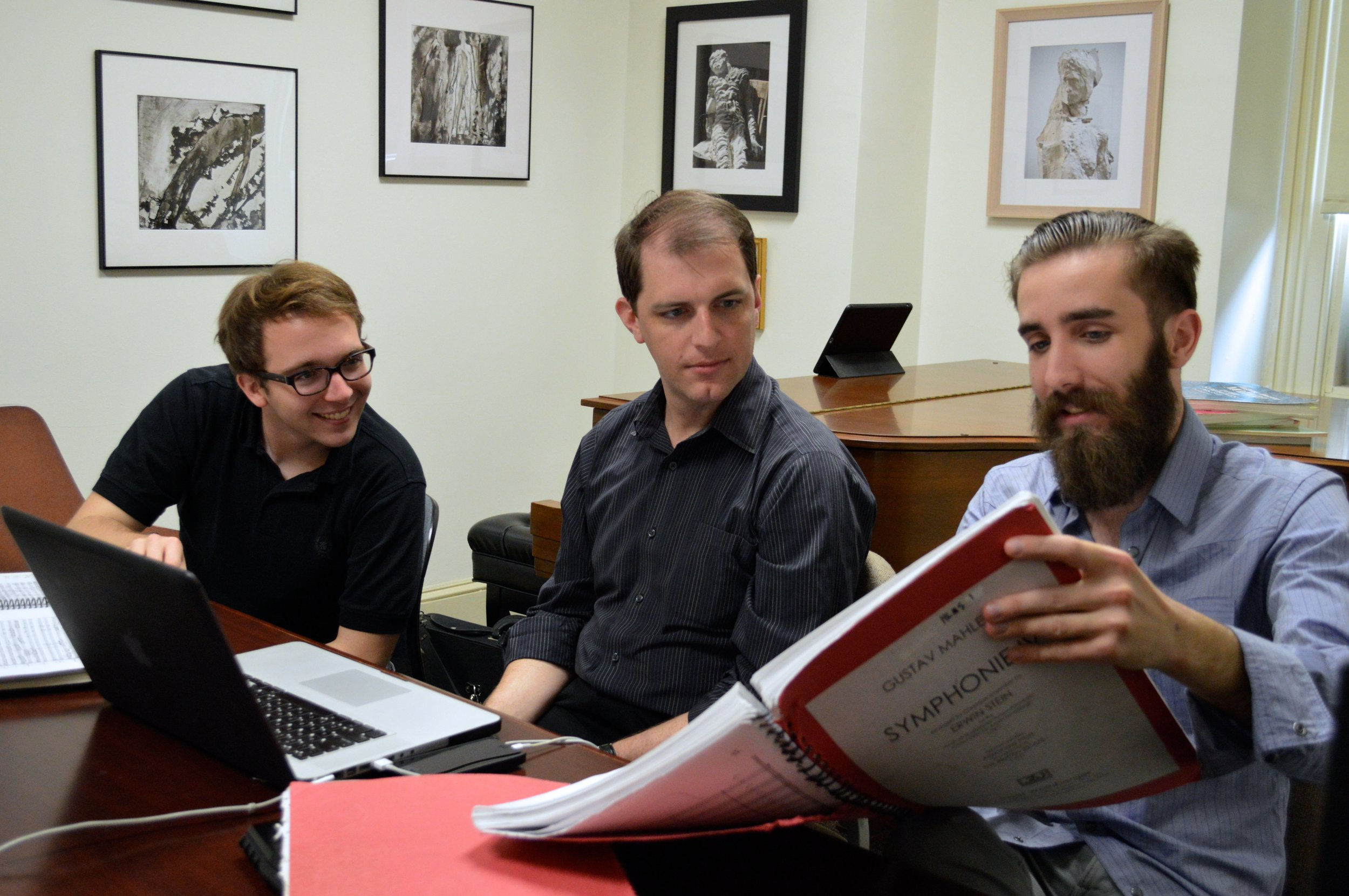 Nicholas Bentz, Jordan Randall Smith, and Christopher Ciampoli