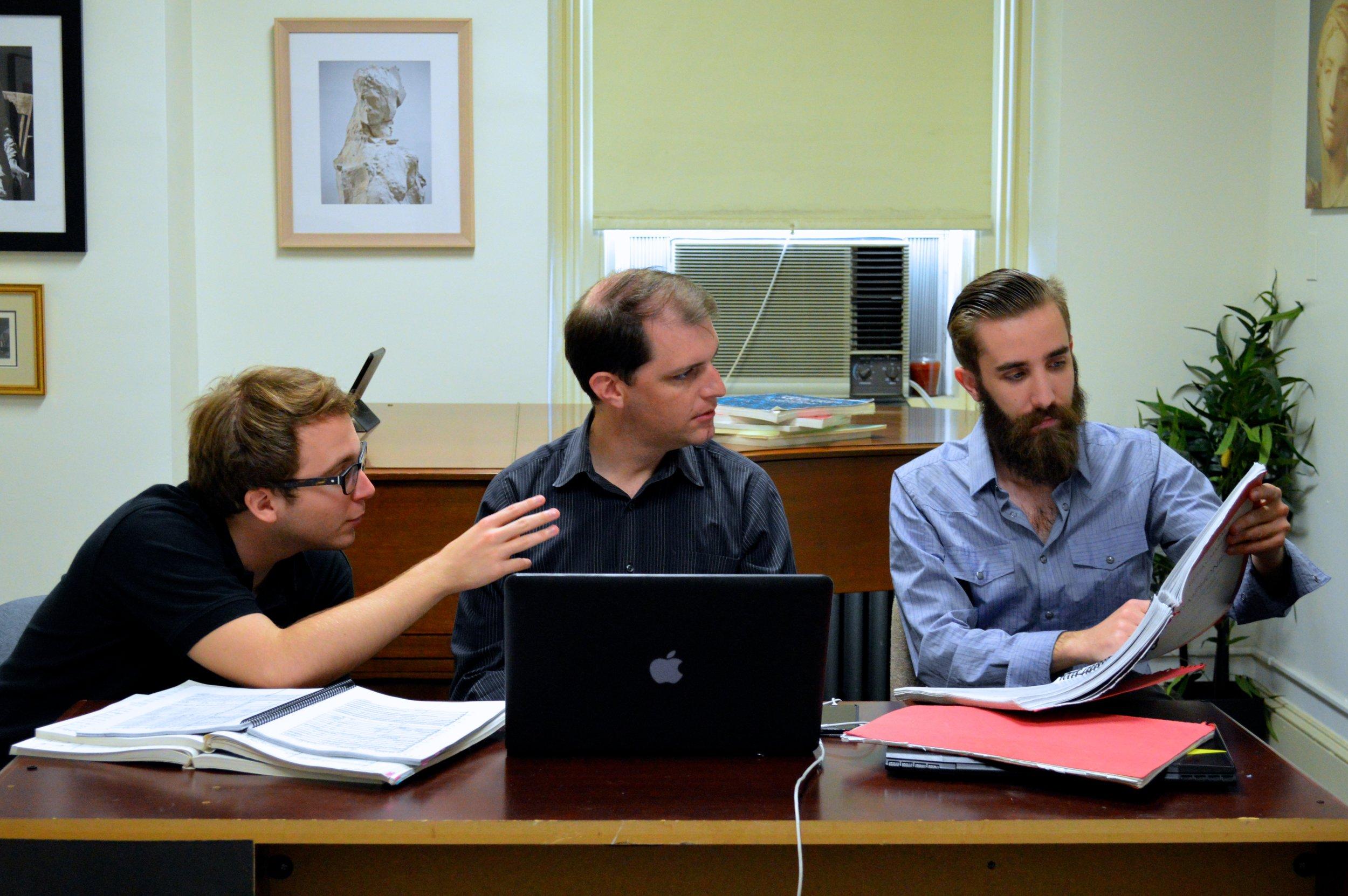 Nicholas Bentz with Jordan Randall Smith and Christopher Ciampoli