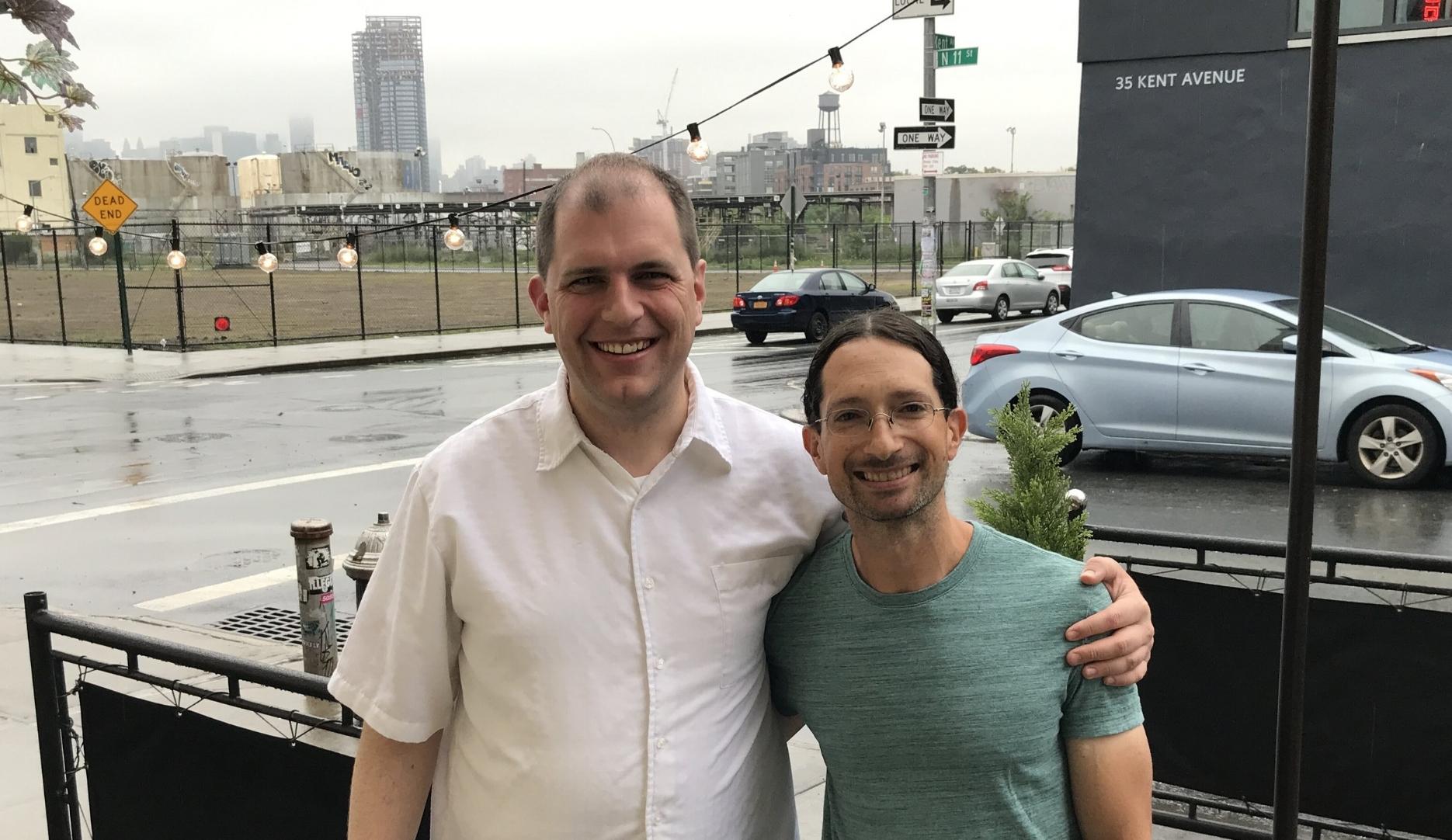 Music Director Jordan Randall Smith and Composer-in-Residence Ben Goldberg