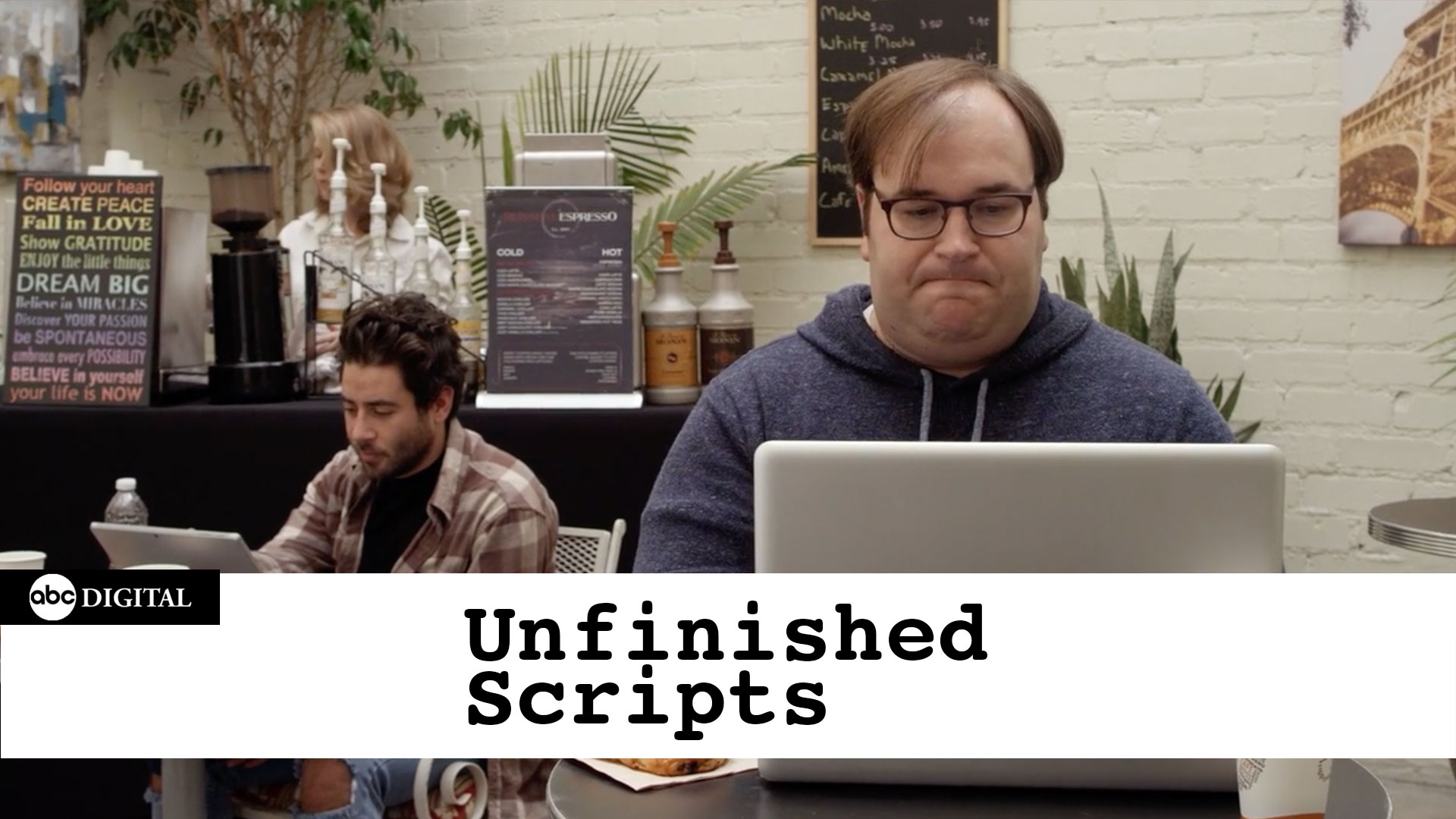 UNFINISHED SCRIPTS    Inspired by  comedy writer Gavin Speiller's Twitter account, Unfinished Scripts brings to life the first page of some of the worst movie ideas you've never seen.