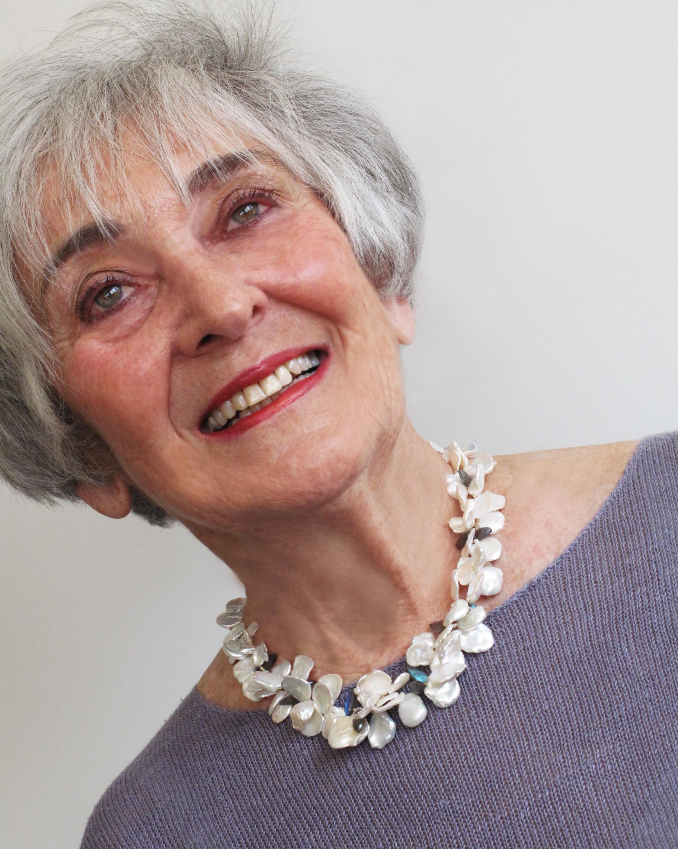 Phyllis Marx- pearls