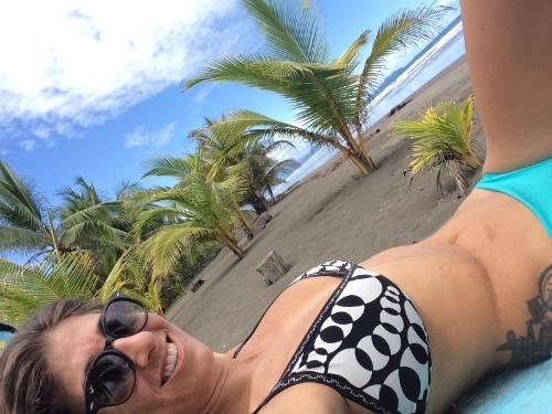 Straight chillin' on my last full day in Costa Rica.