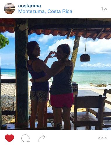 Join my company on Instagram/Twitter: @costarima. Brooke (founder of YTT) &I in Montezuma.