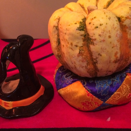 Witches, black cats, candy corn... and pumpkins! A few of my favorite things about Fall.