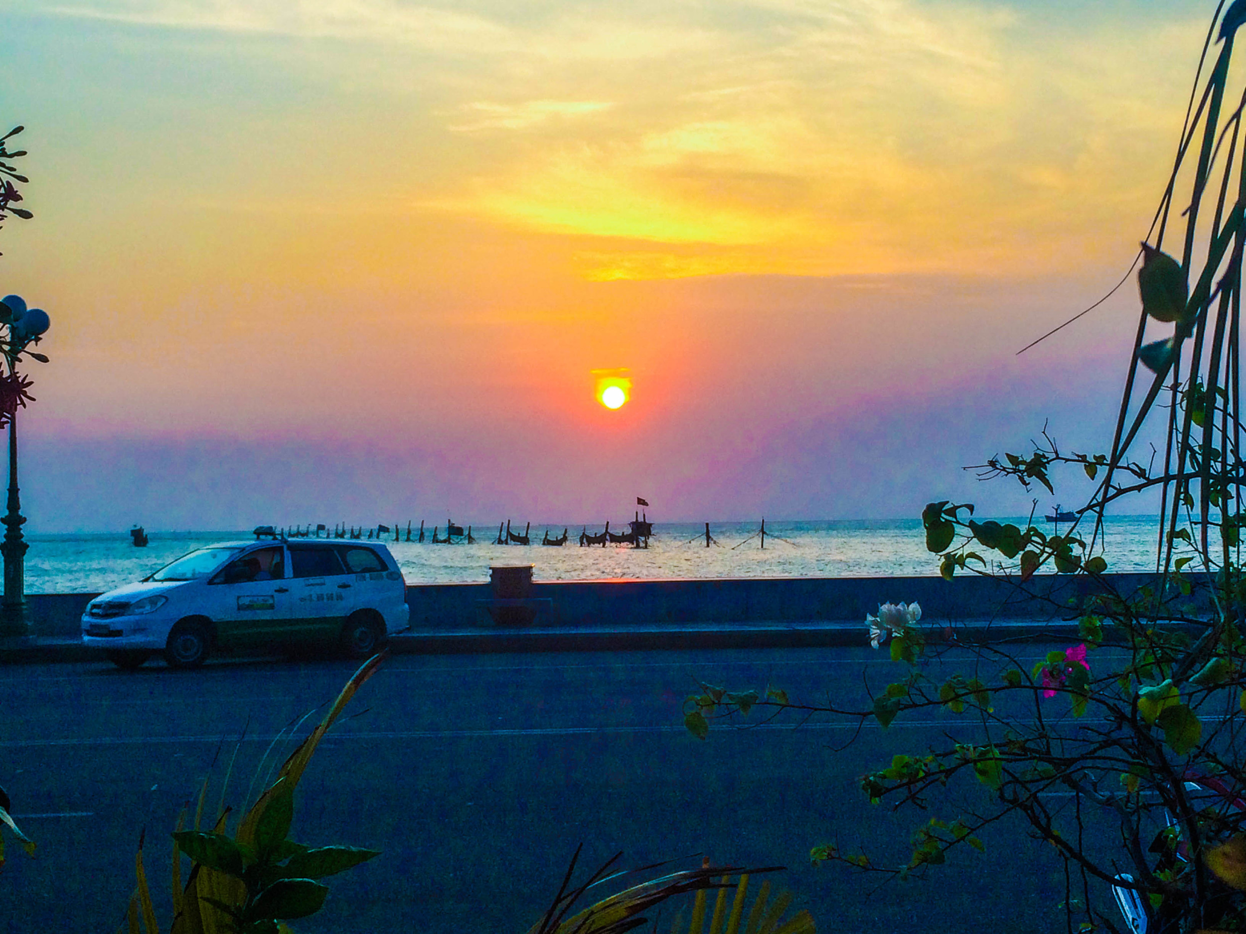 Sunset in Vung Tau