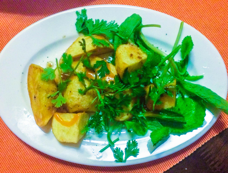 The batatas bravas were delicious!