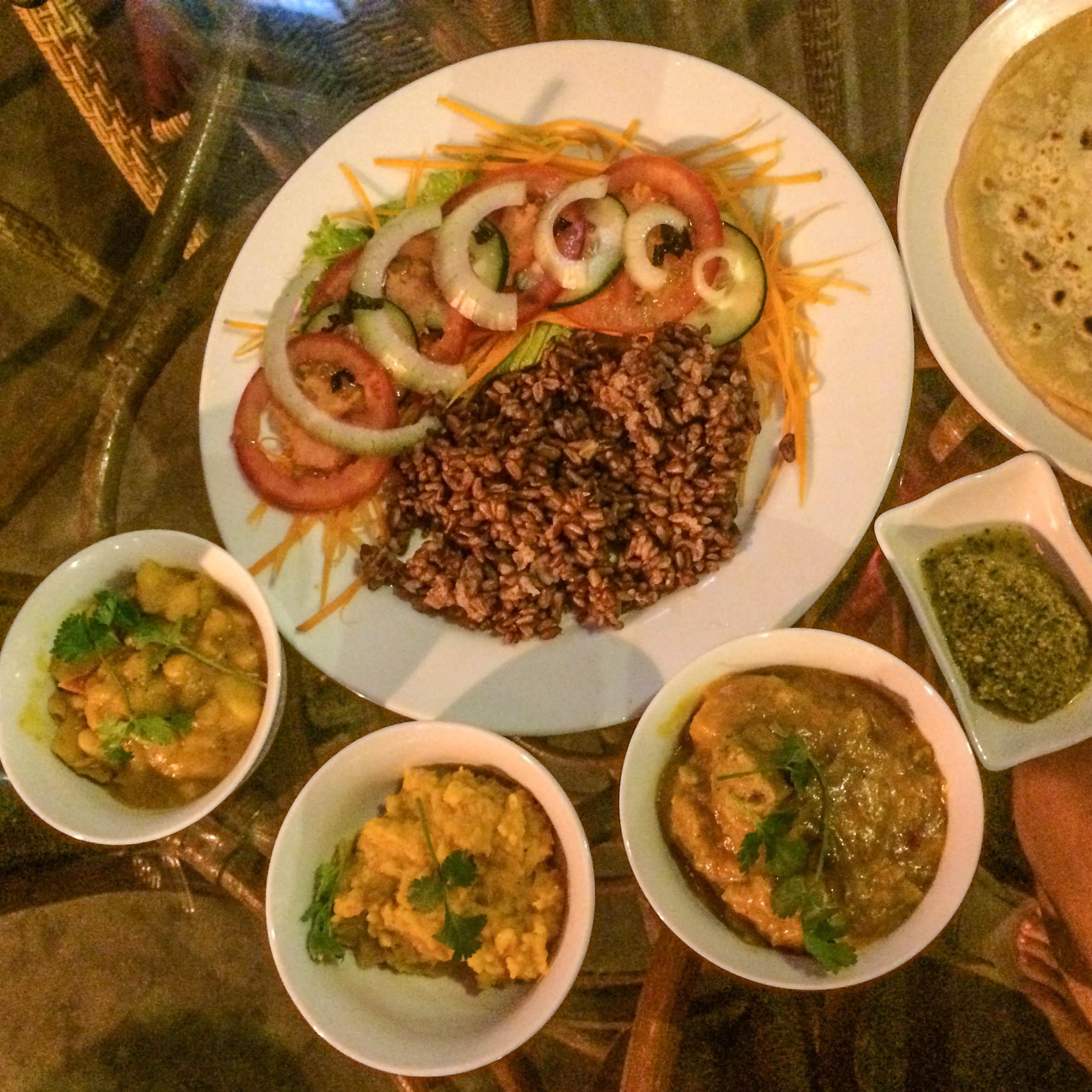 Copy of Vegetable Thali