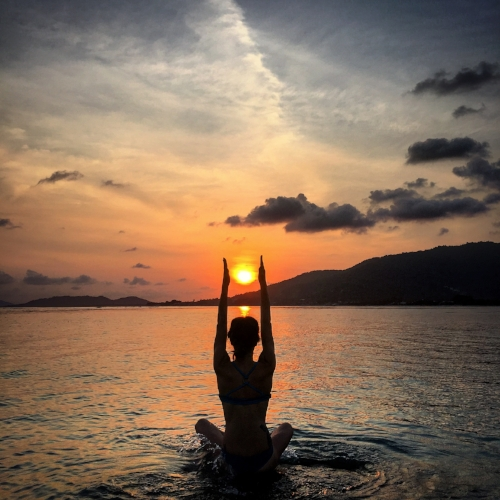 On your period? Swimming, practicing yoga, and being on vacation is no problem with The DivaCup!