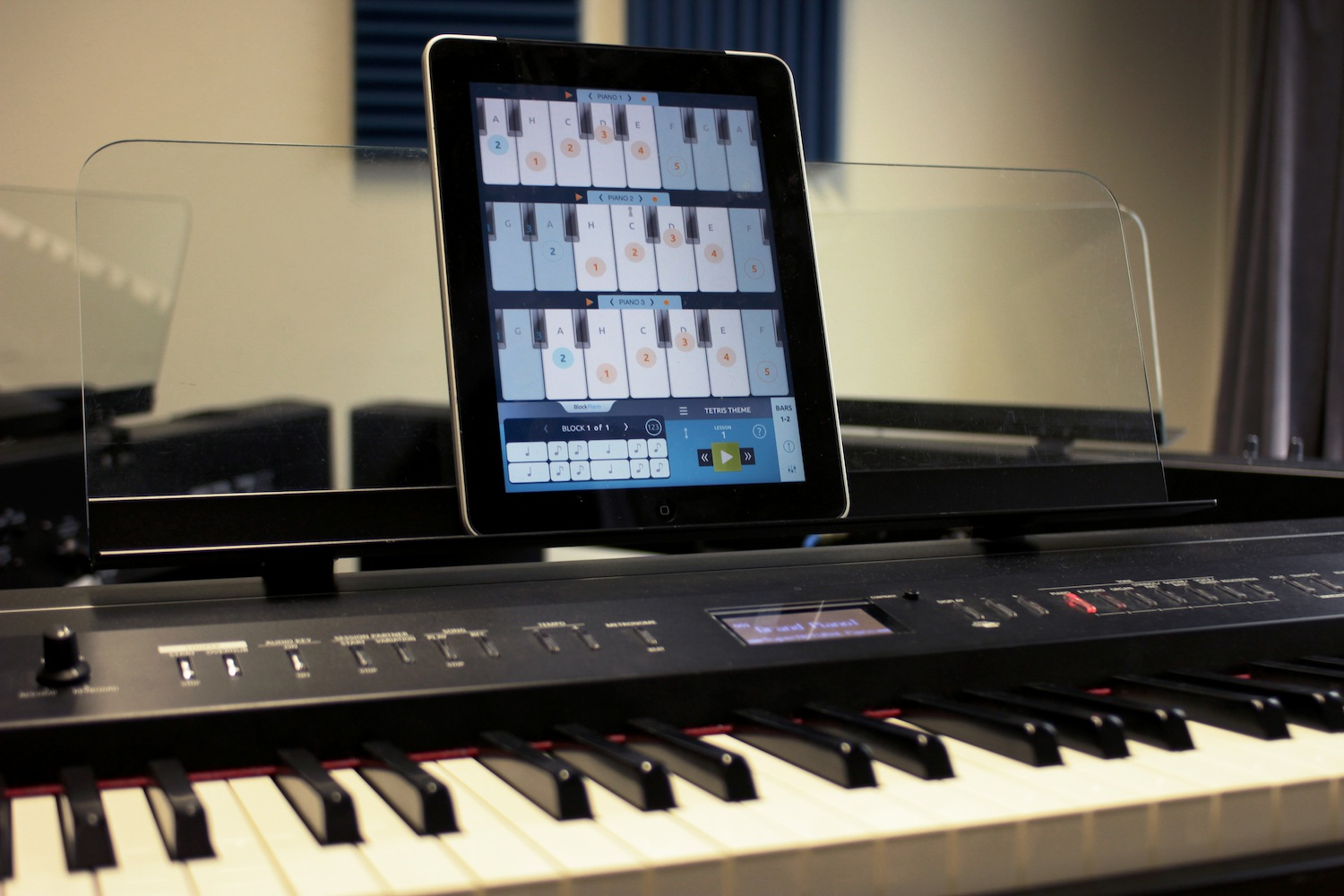 Learn to play the piano with the help of your ipad