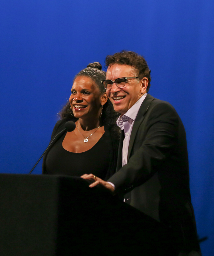 AUDRA MCDONALD & BRIAN STOKES MITCHELL. Photo Credit Lee Wexler