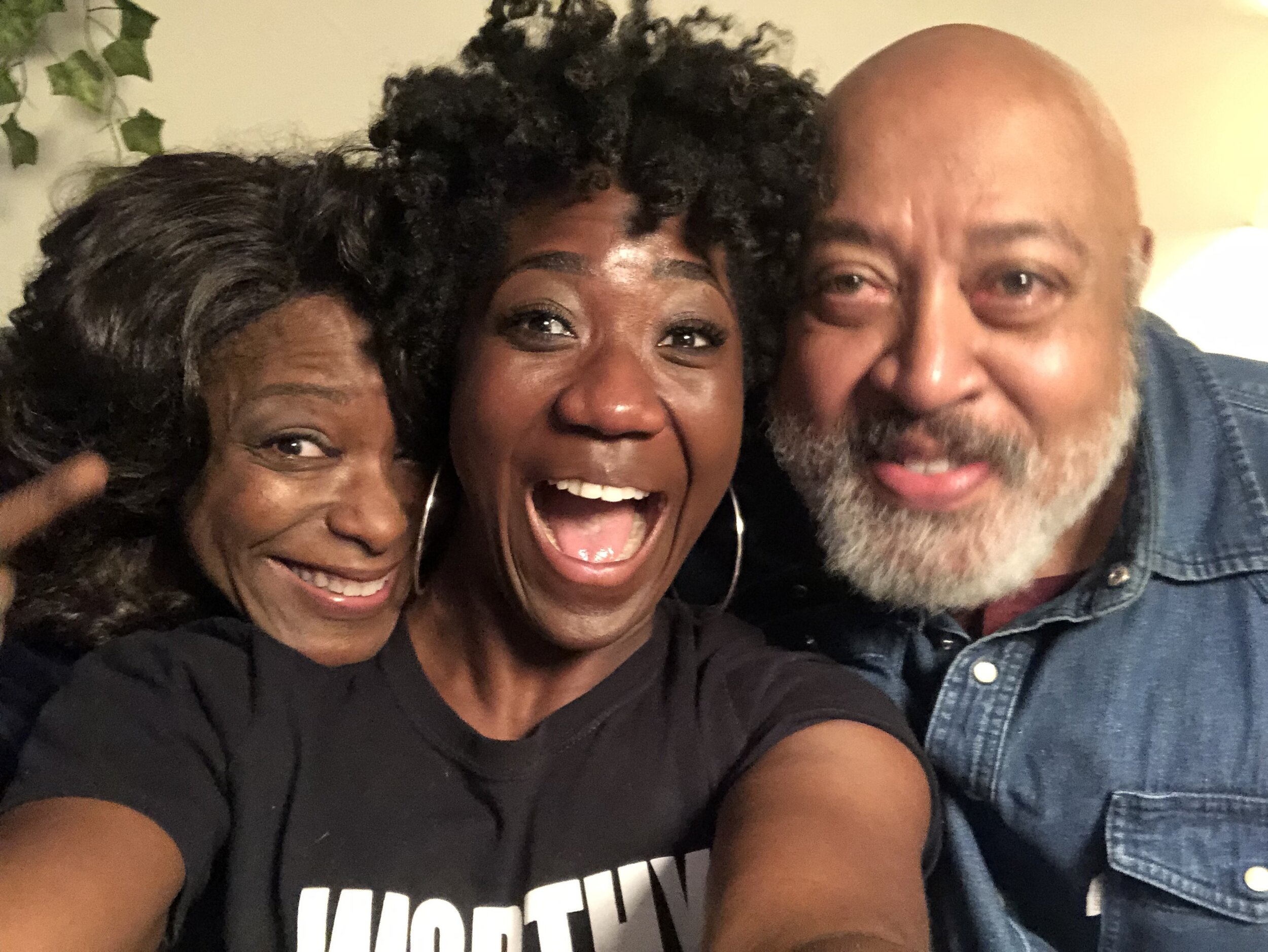 I convinced these crazy talented kids to play my parents and they nailed it. C. Kelly & Keith !!!