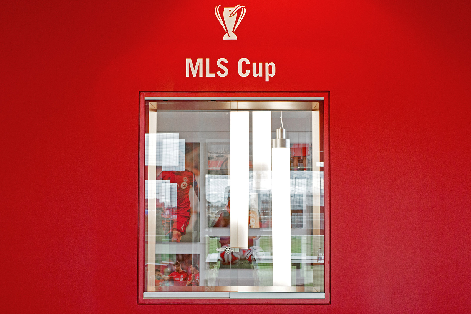 Where Toronto FC hopes to store the MLS Cup in their 2016 Playoff run. Photo by Dennis Marciniak