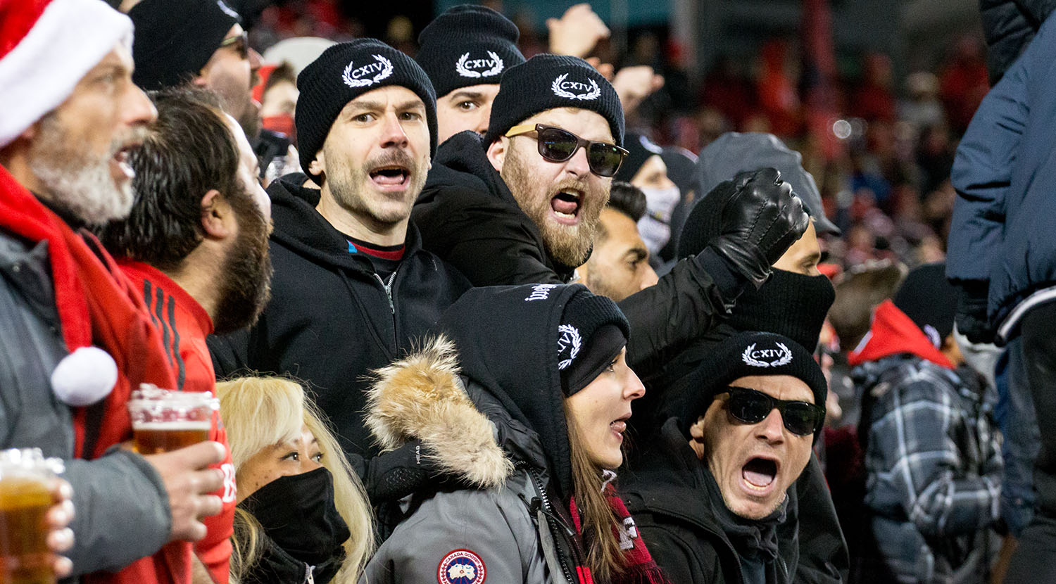 My favourite Inebriatti supporters making the noise they've been making all year during the 2017 MLS Cup FInal. Hats off to you guys.Image by Dennis Marciniak of denMAR Media.