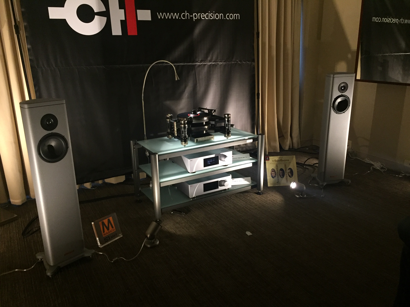 CH Precision at Axpona 2017