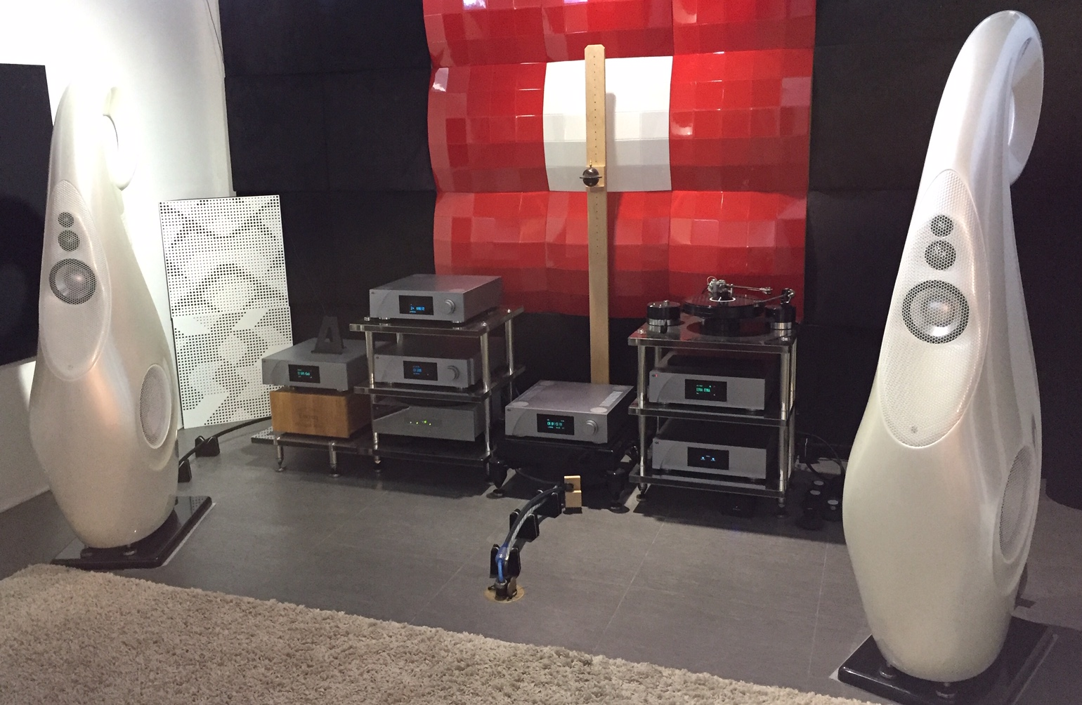 CH Precision at Element Acoustics 2018