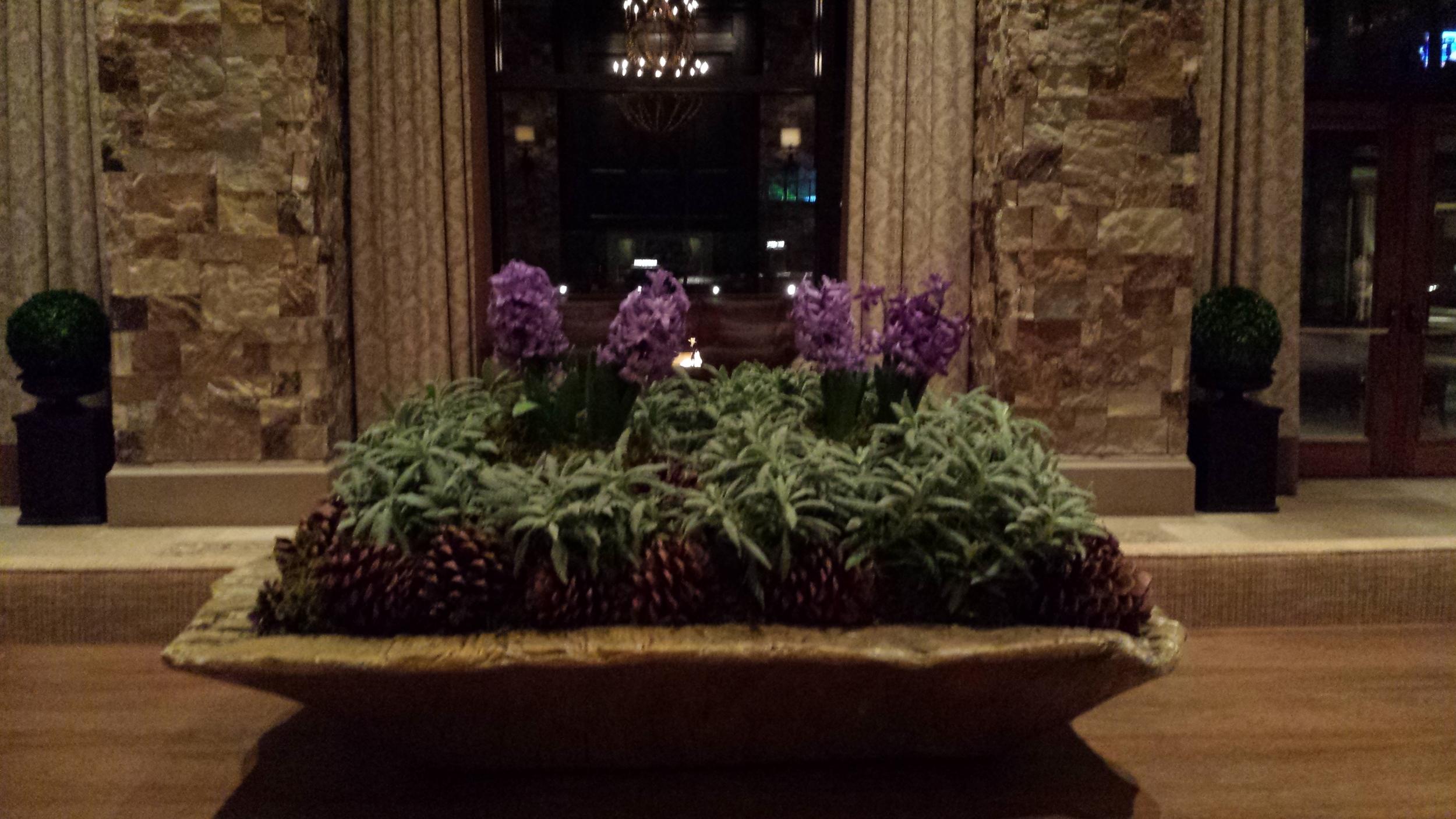 Lobby Arrangement at the St. Regis Deer Valley.jpg