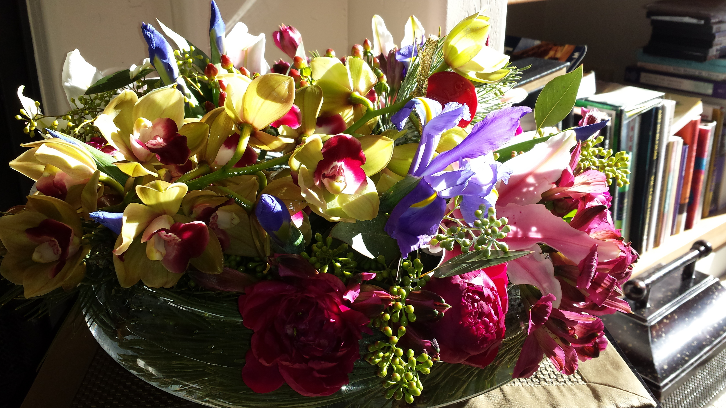 Fresh floral arrangement at the St. Regis Deer Valley
