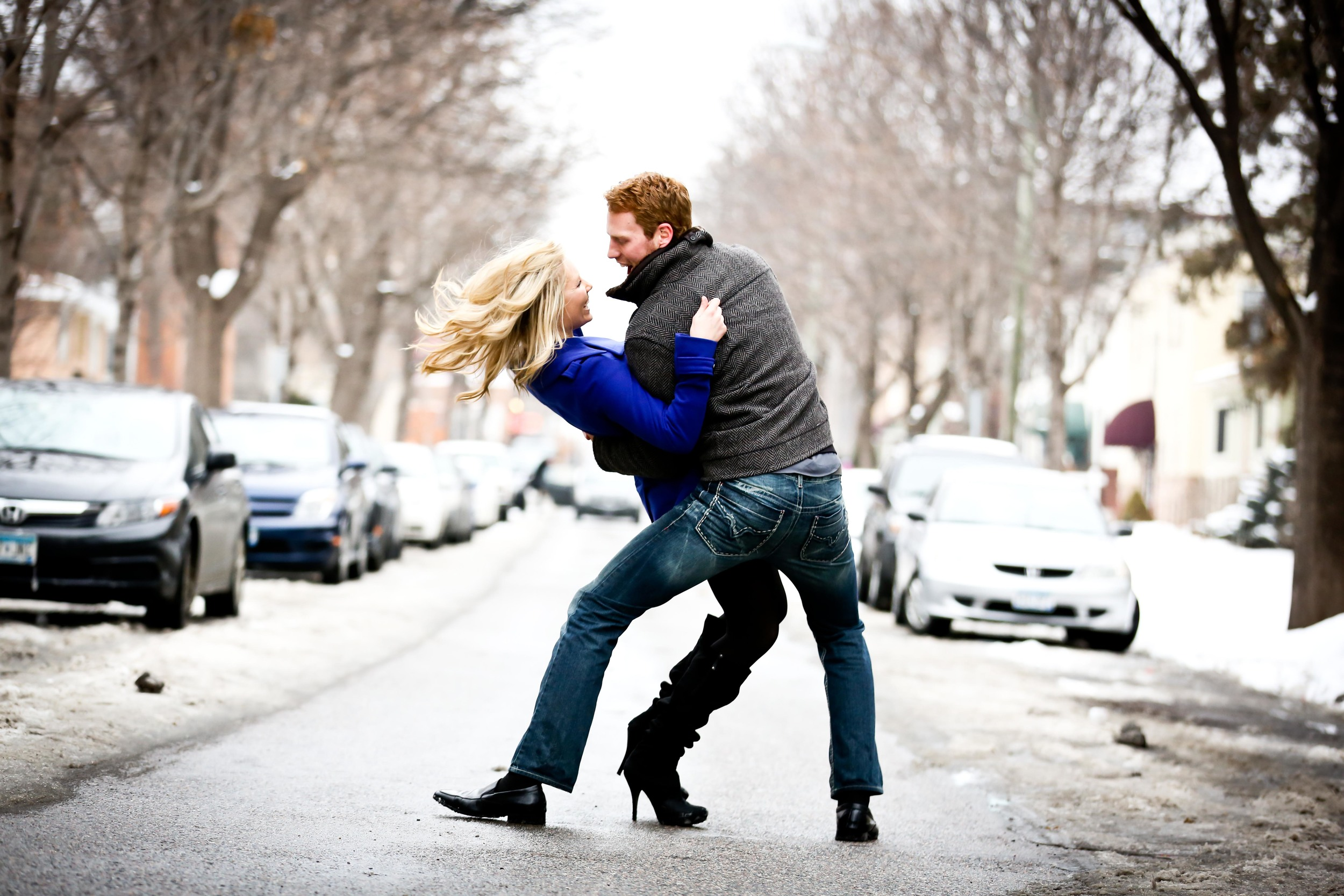 Uptown Minneapolis Engagement Photographer