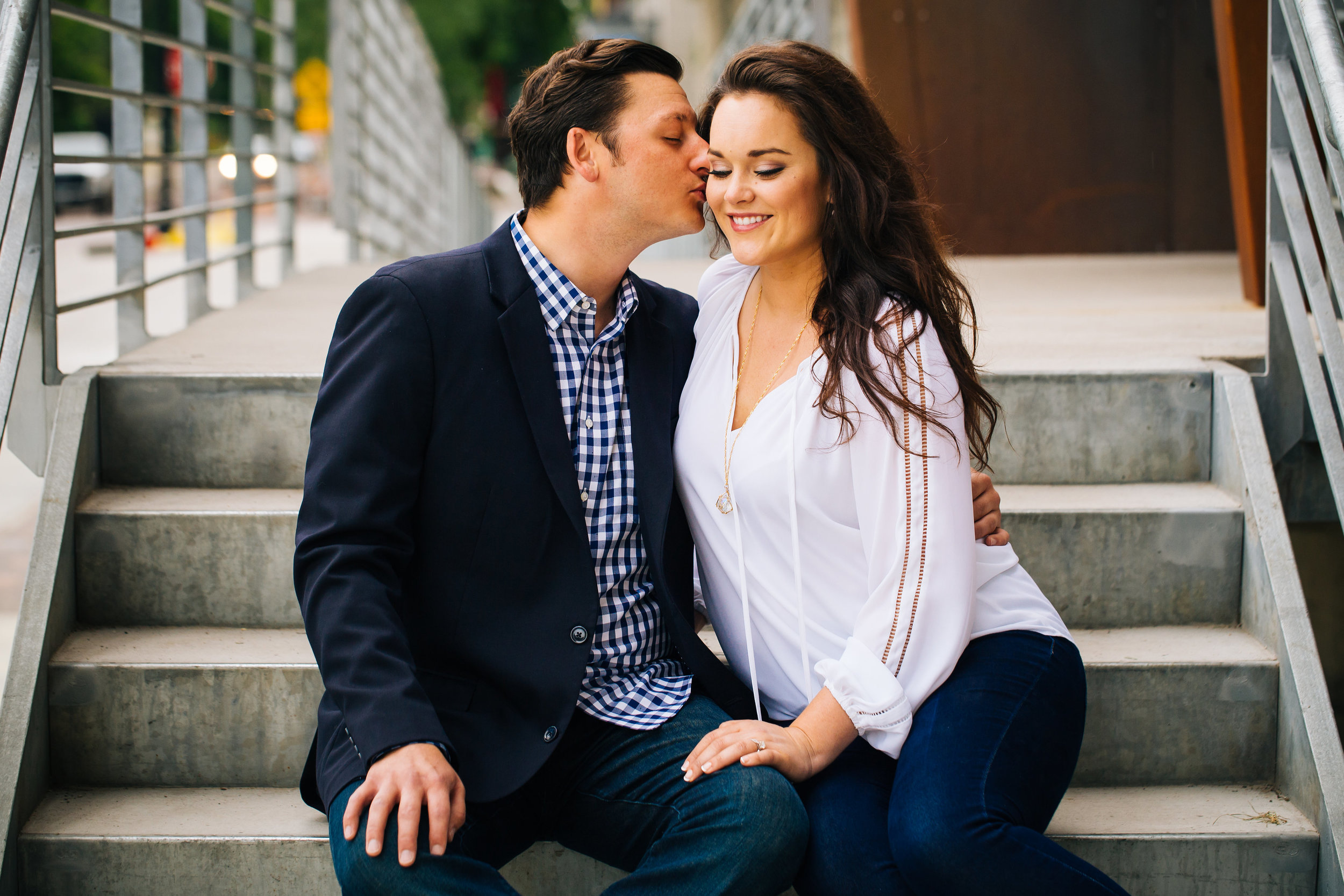 Classic Engagement Shot in Minneapolis