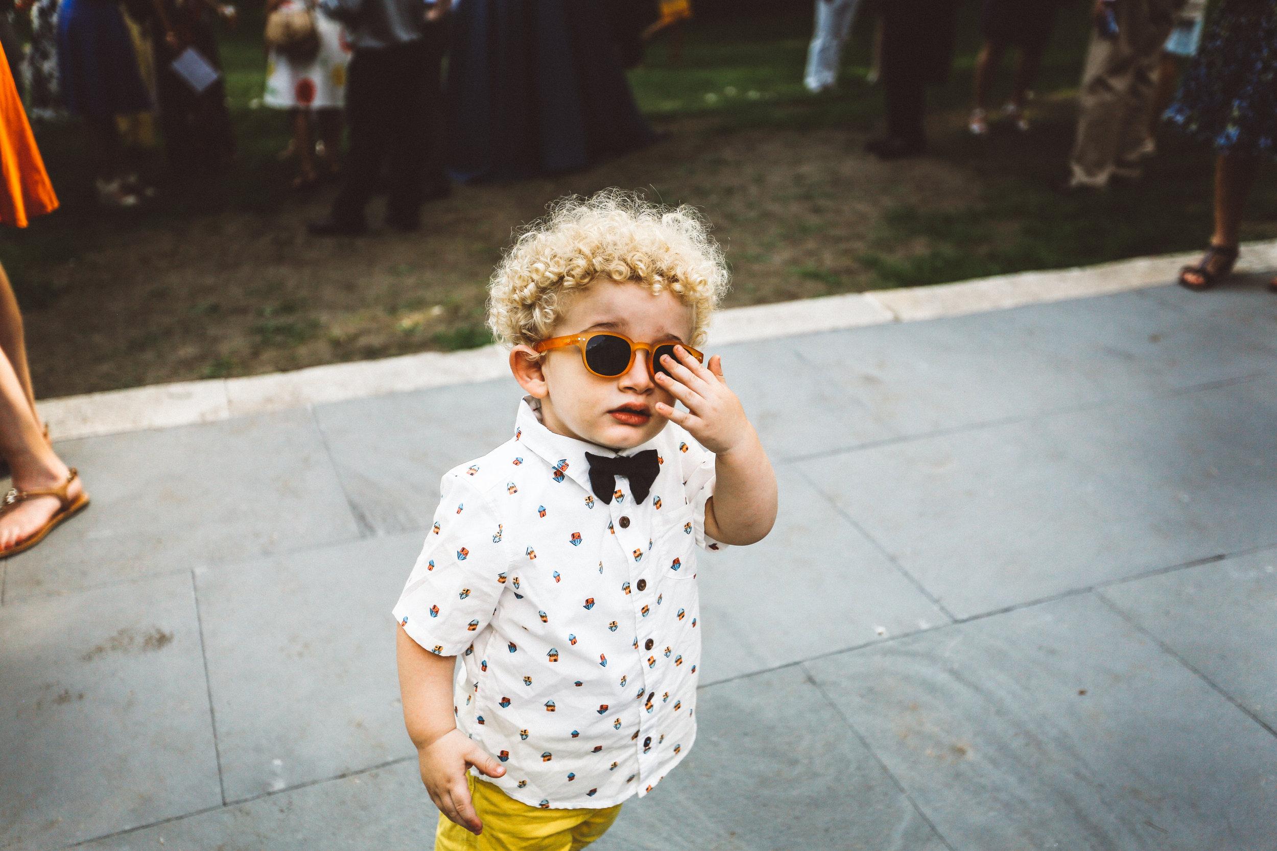 Hipster Toddler