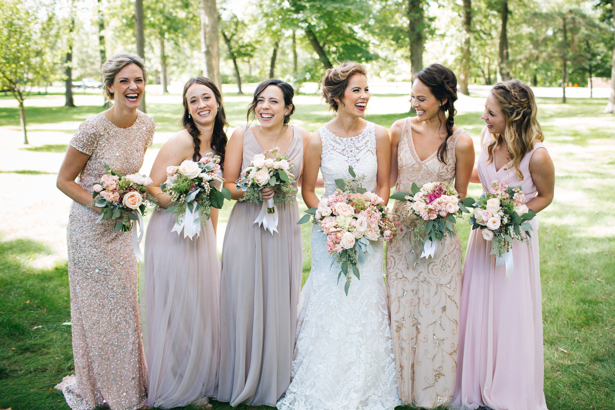 Pretty St. Paul Bridal Party