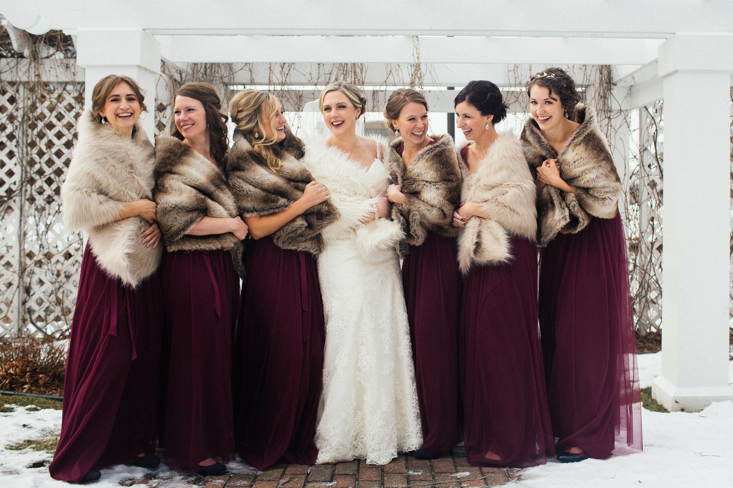 Earle Brown Heritage Center Bride
