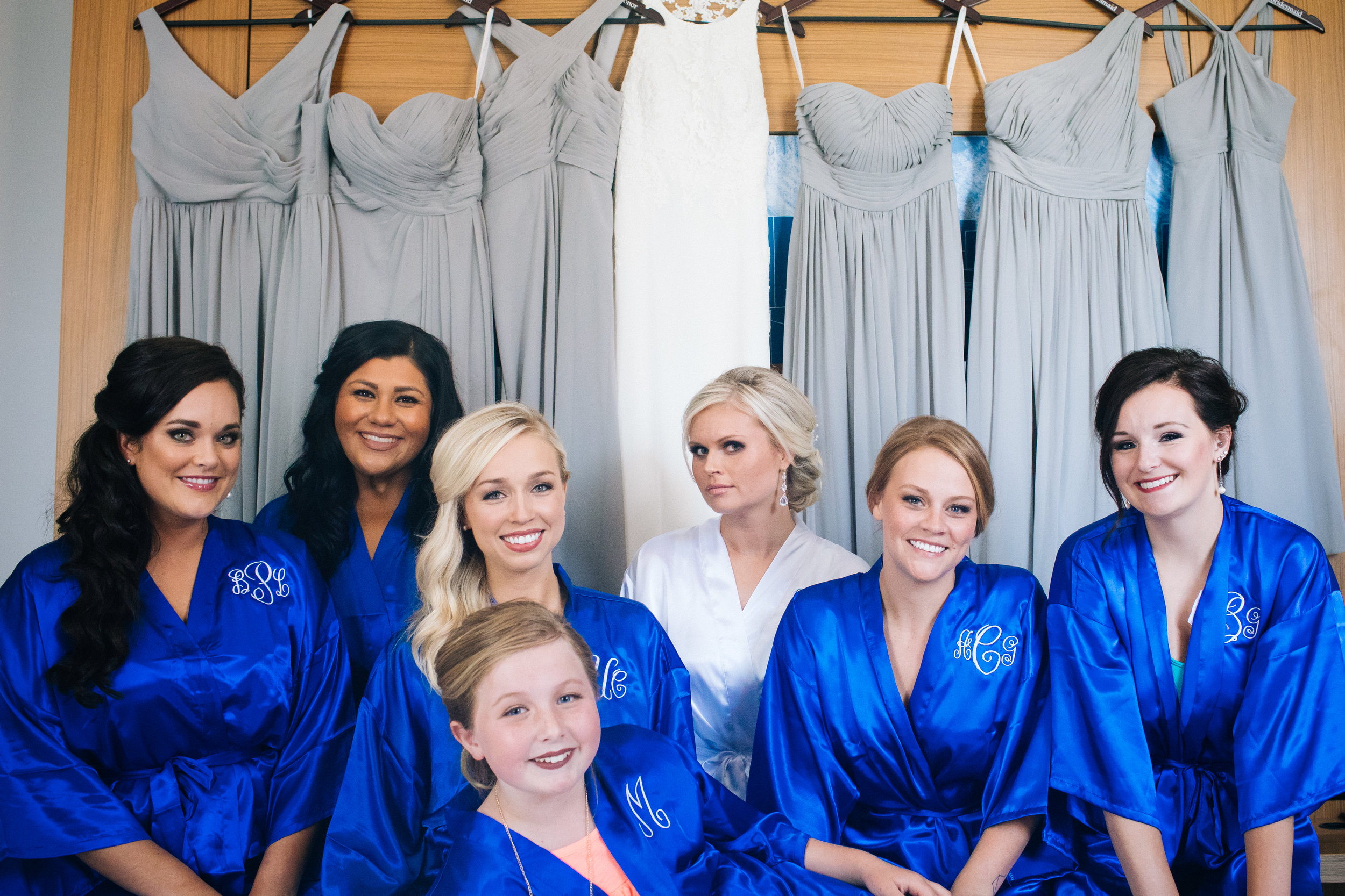 ALoft Suites bridal party