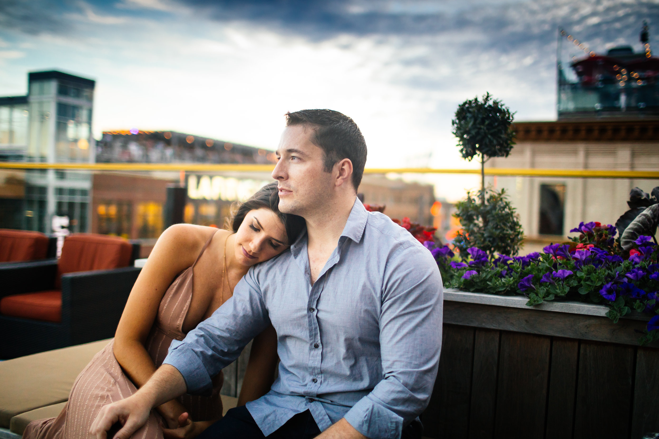 Uptown Minneapolis Engagement Session