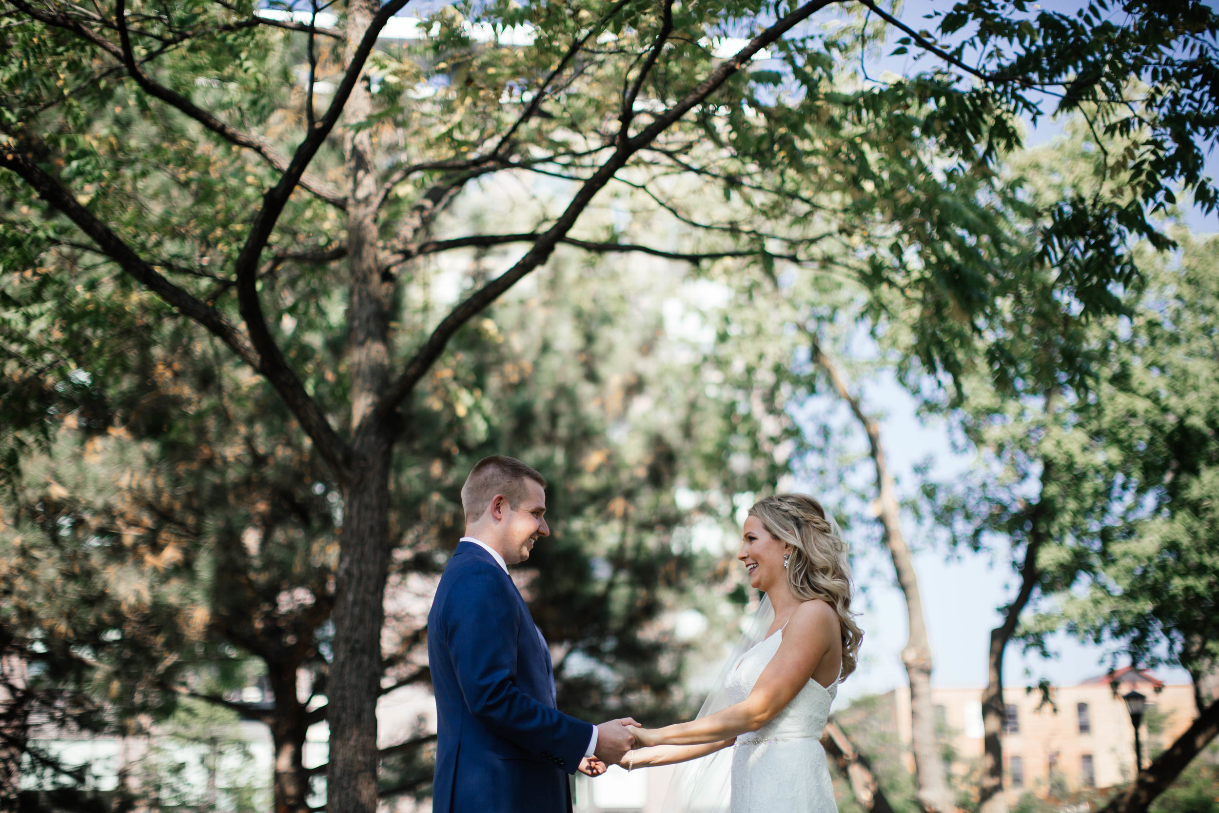 Minneapolis Wedding Photographer First Look