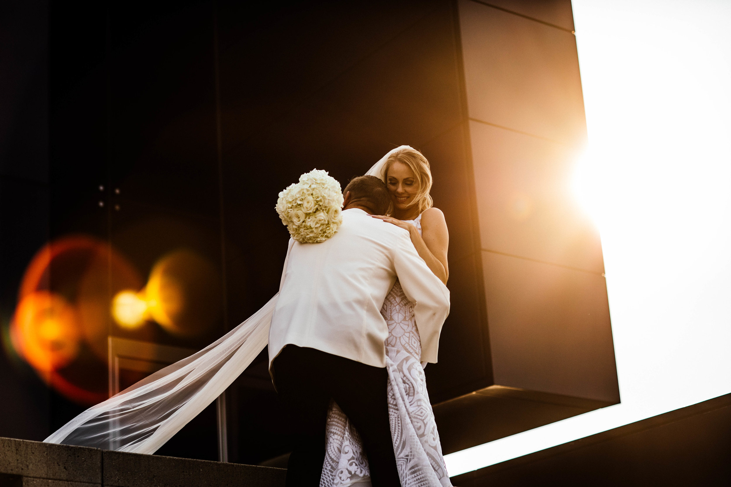 wedding photography at the Guthrie with bride and groom
