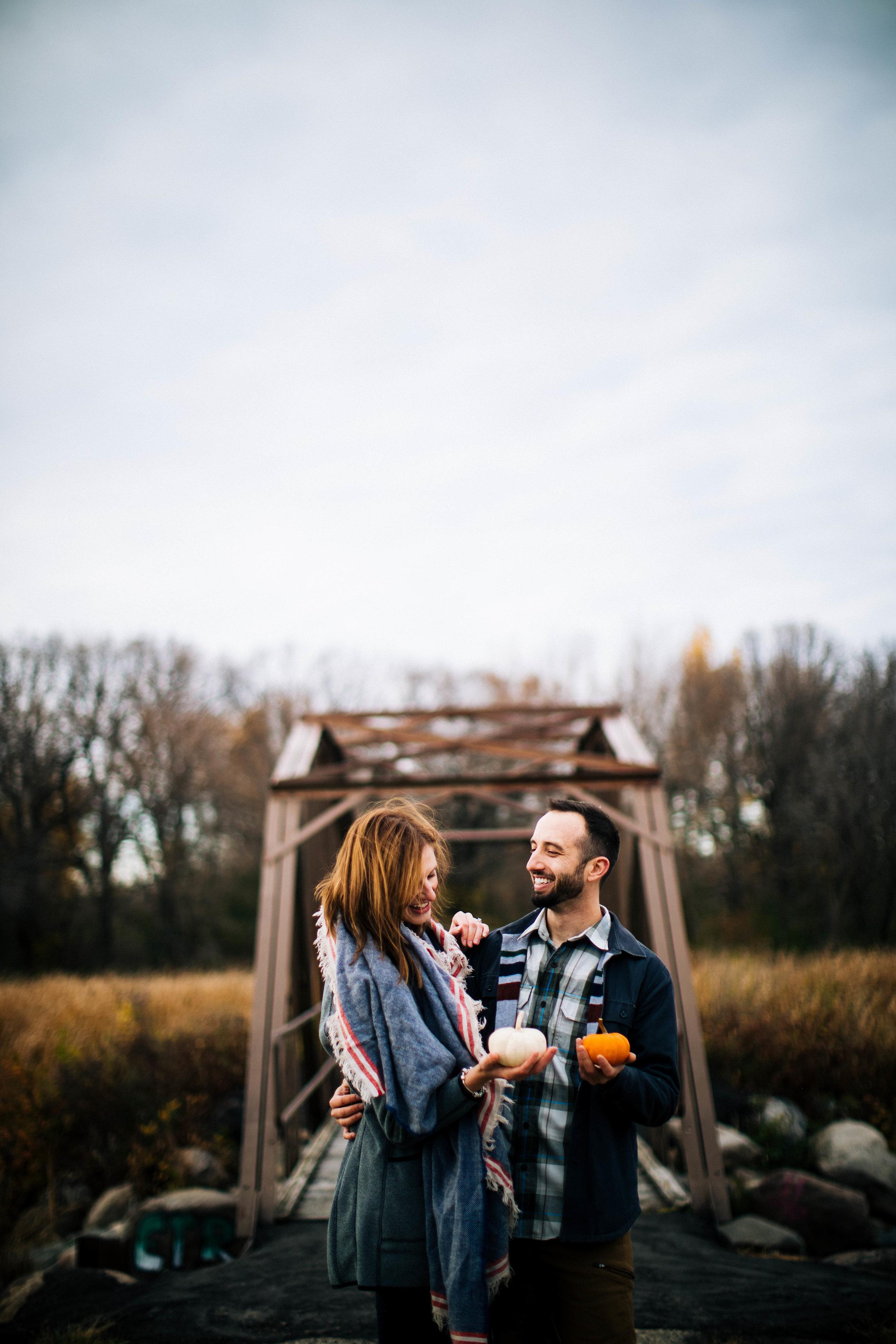 Minneapolis Fall Engagement Photographer