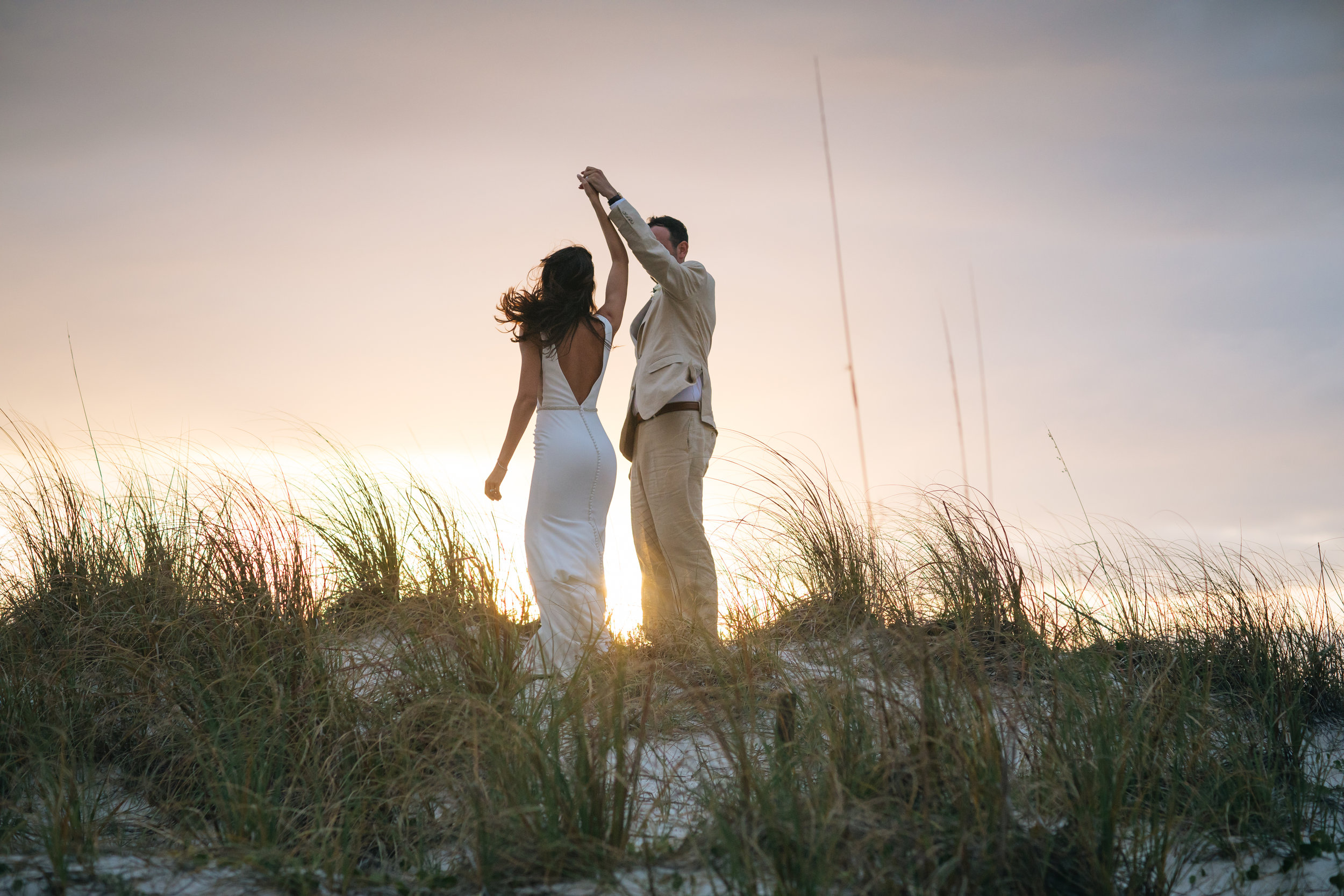 Florida Beach Destination Wedding Photo Video Sunset