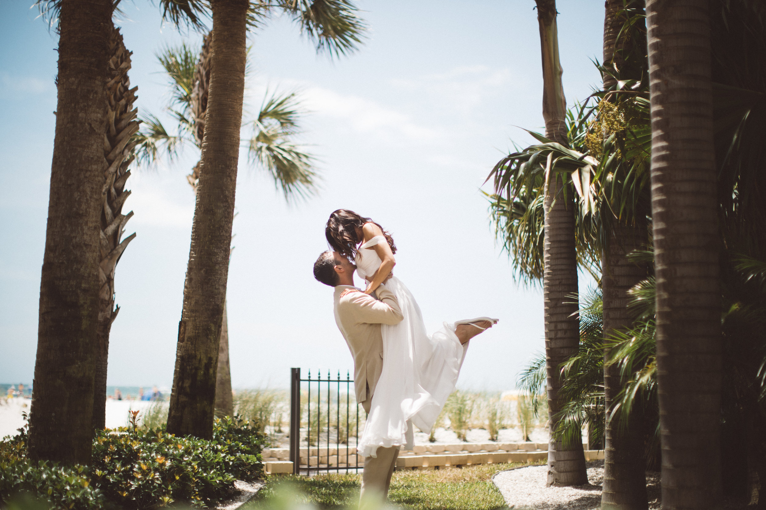 Sandpearl Beach Resort Florida Destination Elopement