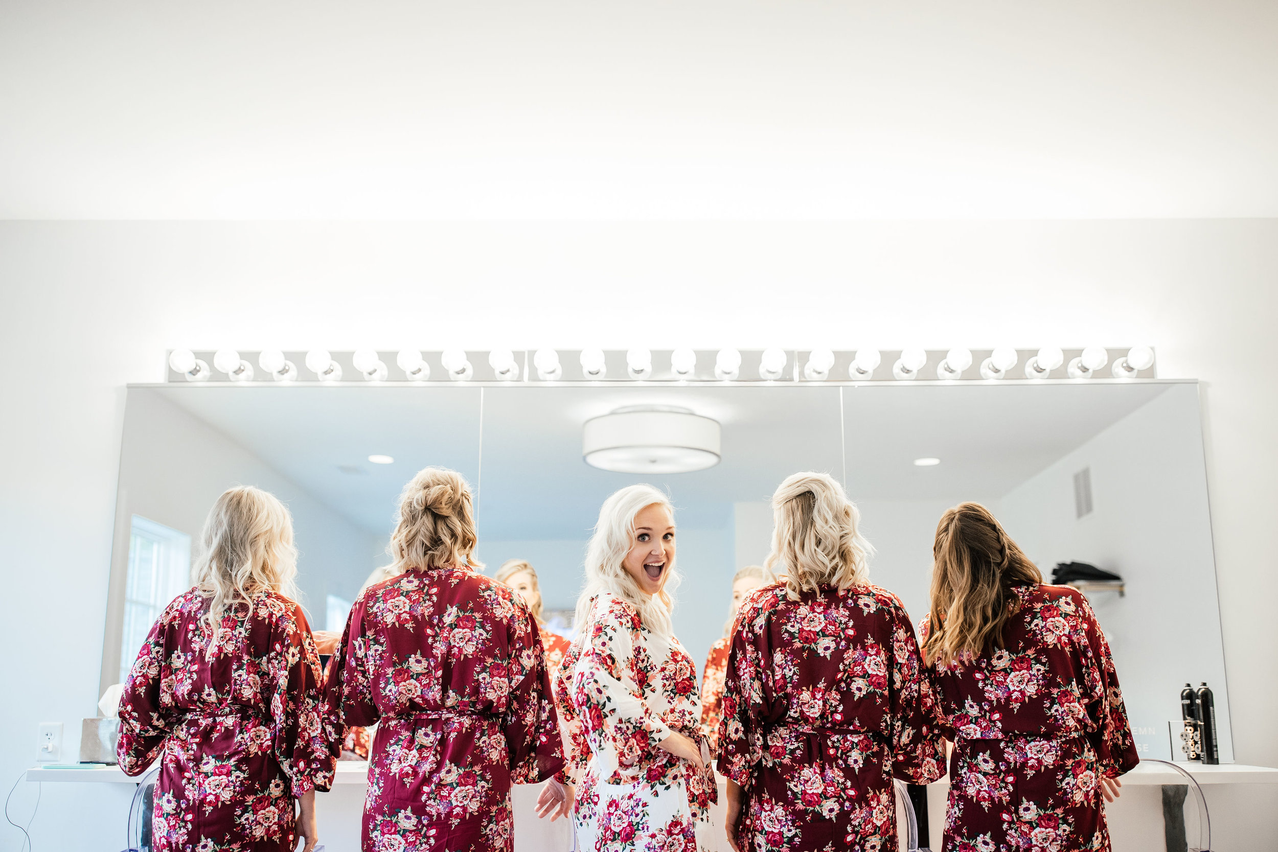 Floral Robes Hutton House Wedding