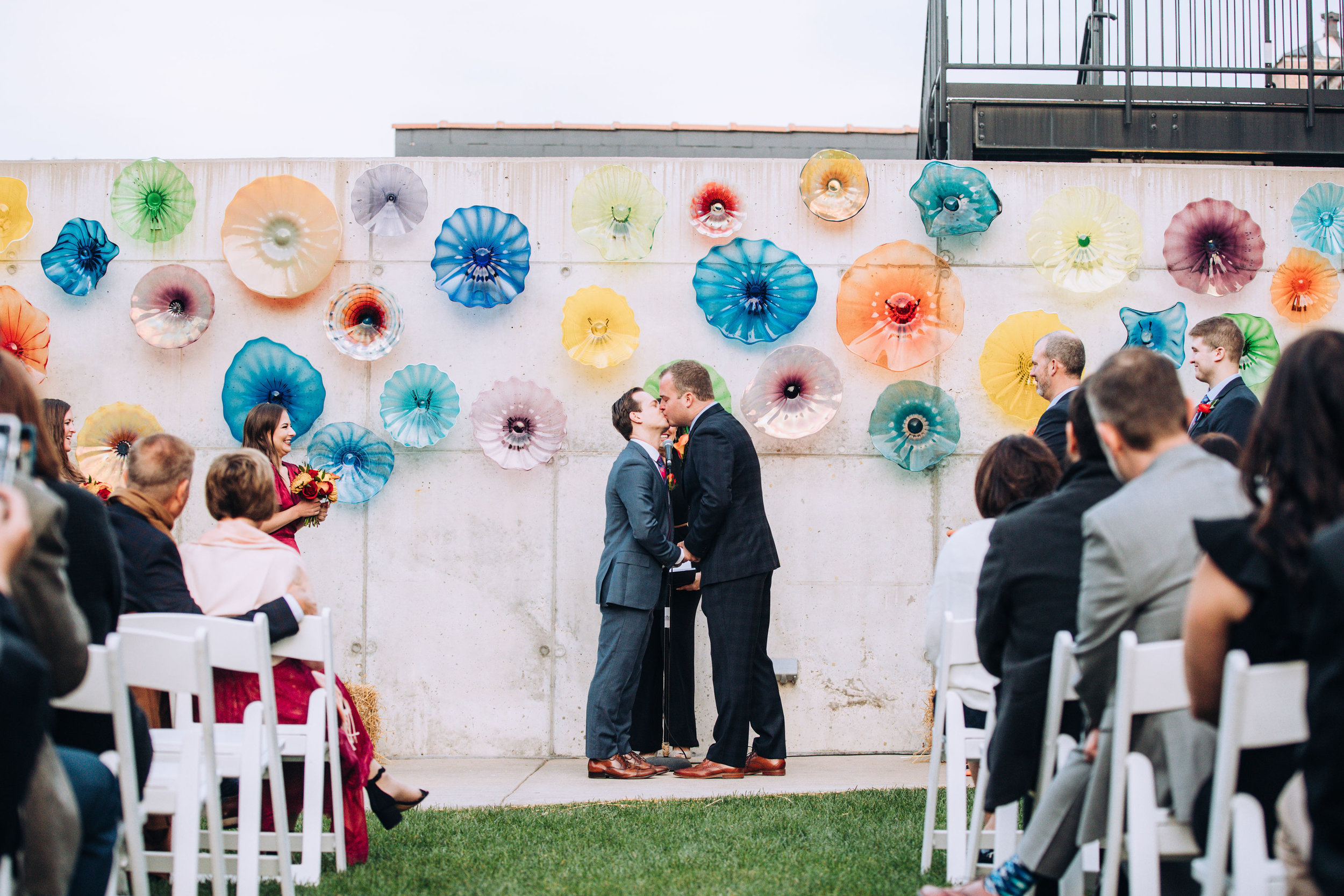 Chicago Outdoor Wedding Ceremony Photographer