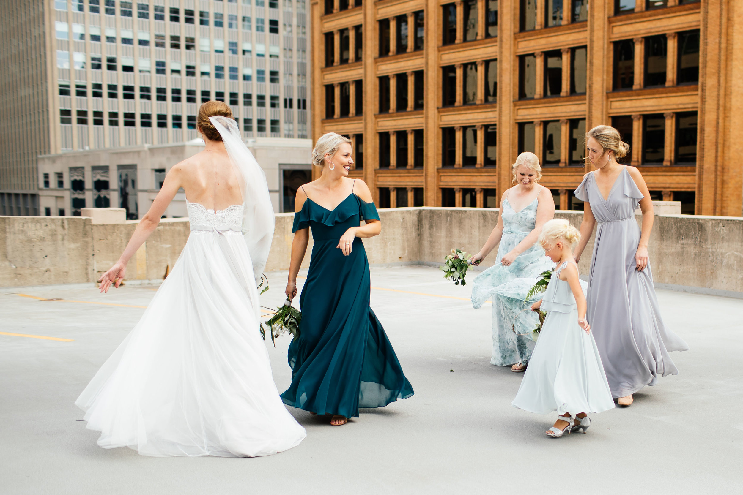Rooftop Wedding video minnesota