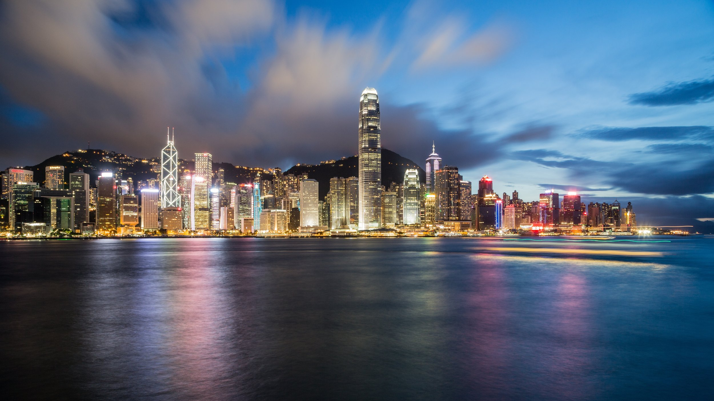 We love Hong Kong - so much culture!