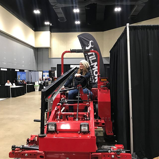 Great conference #ssawg2019 @southernsawg - tested tractors, met great farmers and even snapped a pic with #arkansasfarmer @arkansasagqueen