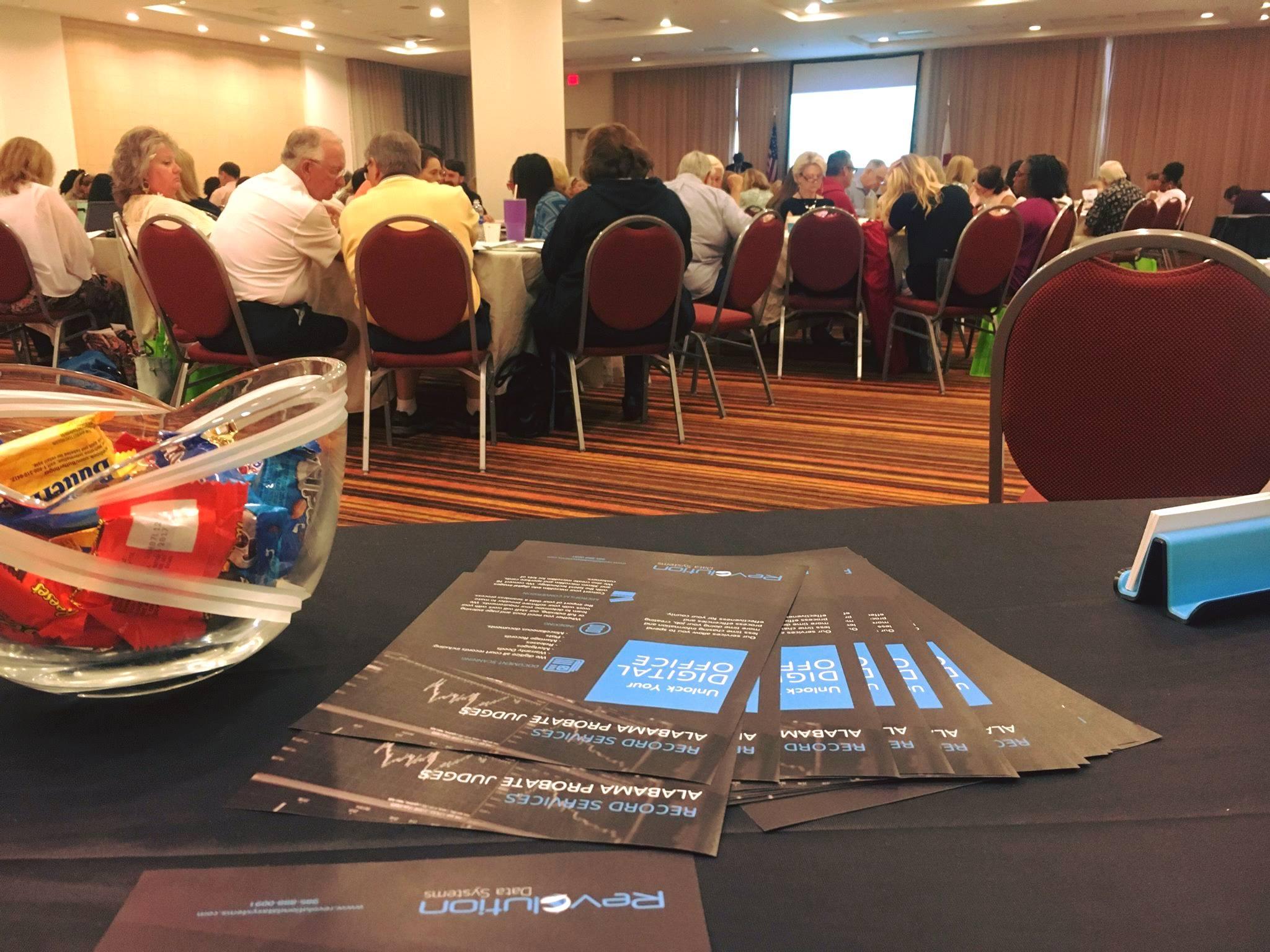 June 26 - RDS sponsors the Probate Judge conference in Mobile, AL.