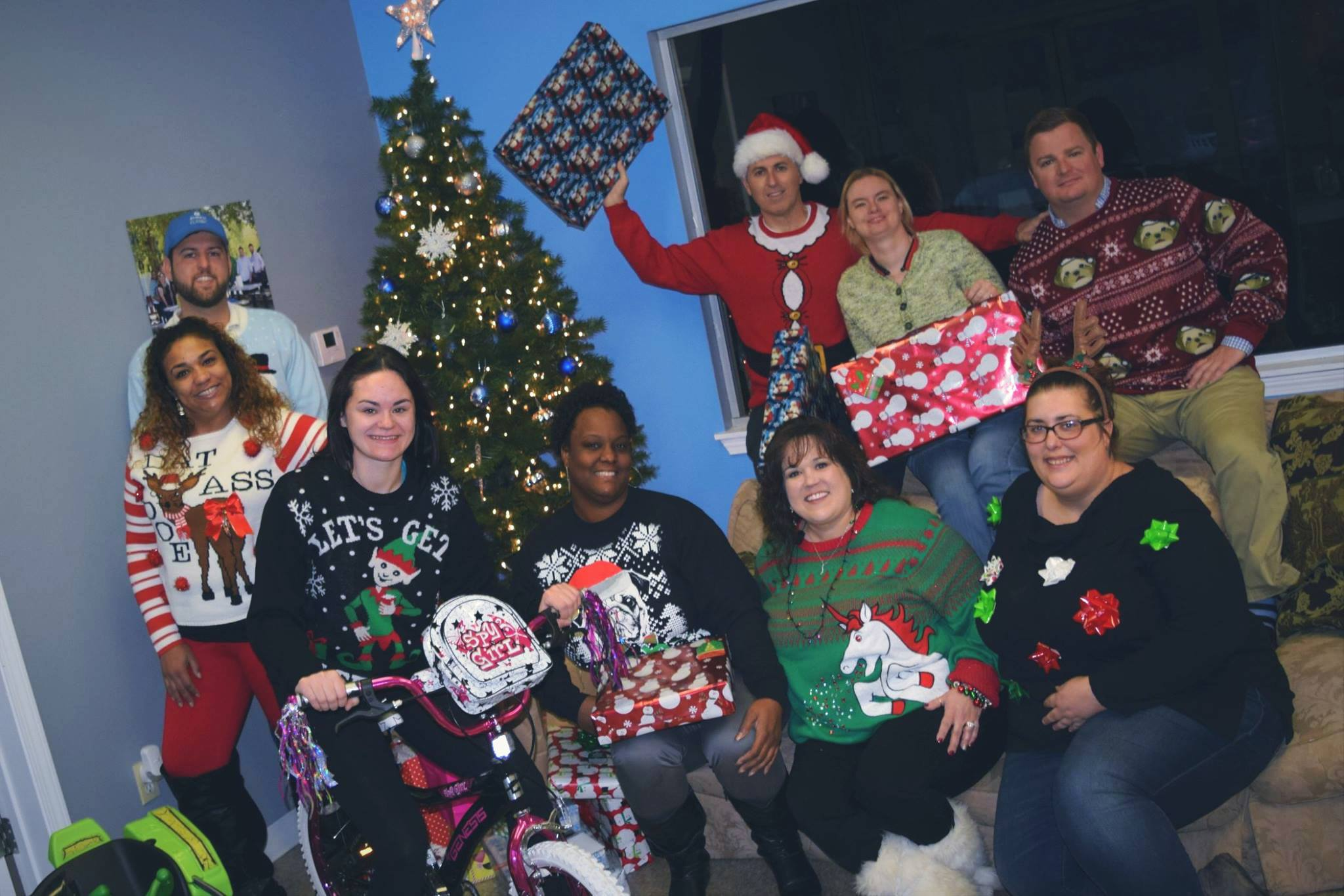 December 15 - Our Adopt-a-family tradition was once again a huge success.