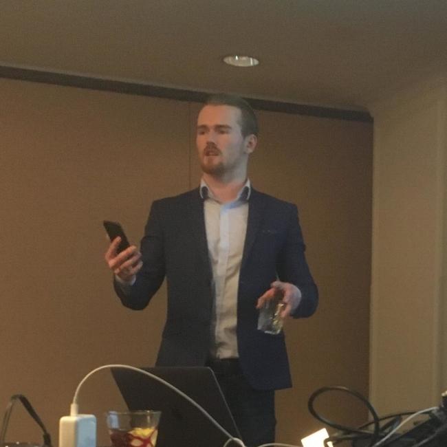 Jake Nicolle delivers a killer presentation on branding and social media.